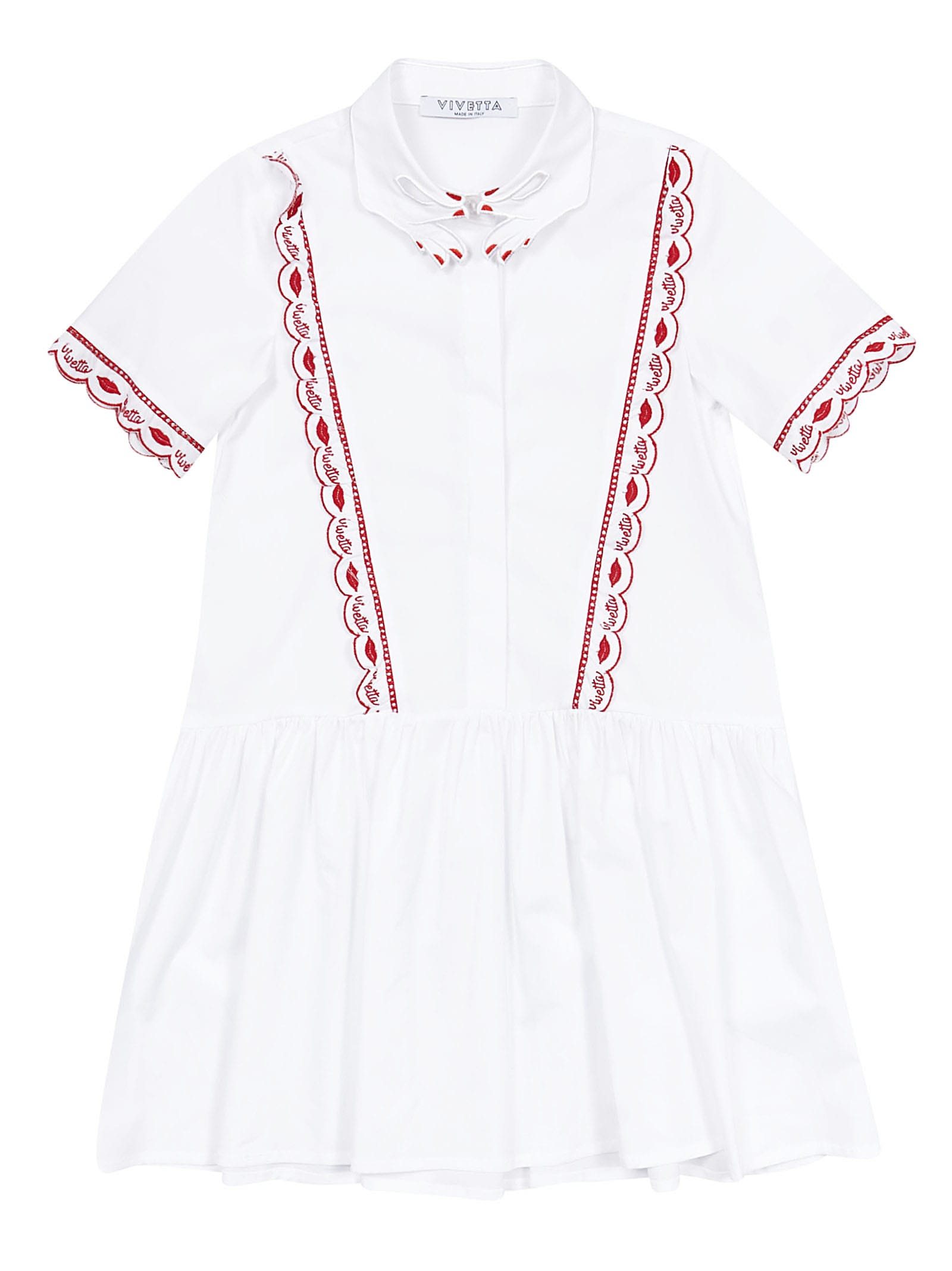 Vivetta Kids Sangallo Dress