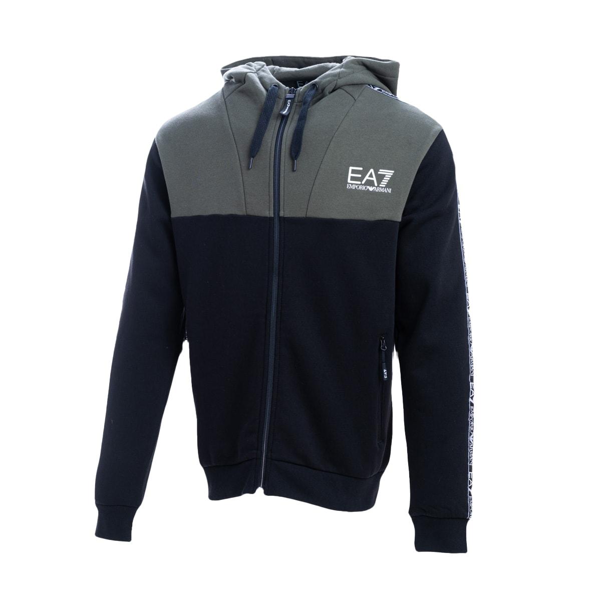 Ea7 Ea7 Cotton Blend Sweatshirt