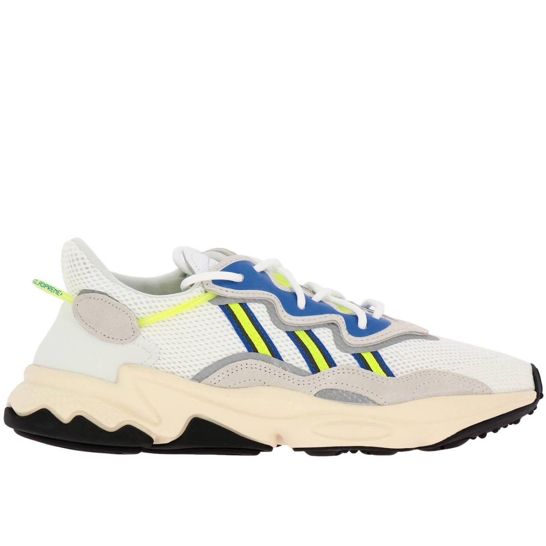 Adidas Originals Sneakers Sneakers Ozweego Adidas Originals In Suede And Fluo Rubber