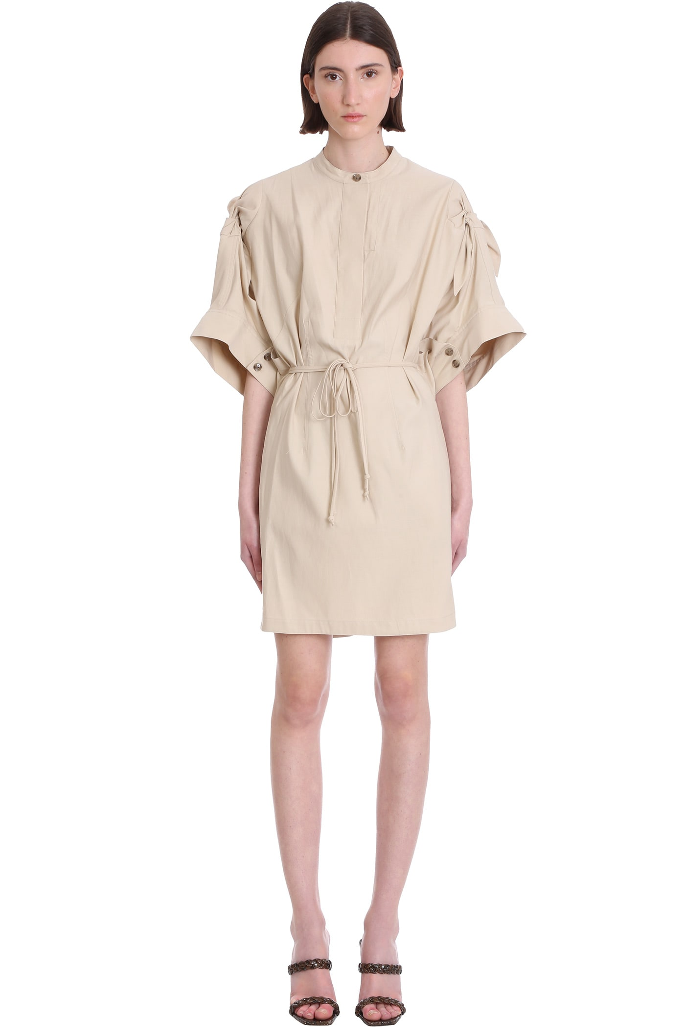 Buy 3.1 Phillip Lim Dress In Beige Cotton online, shop 3.1 Phillip Lim with free shipping