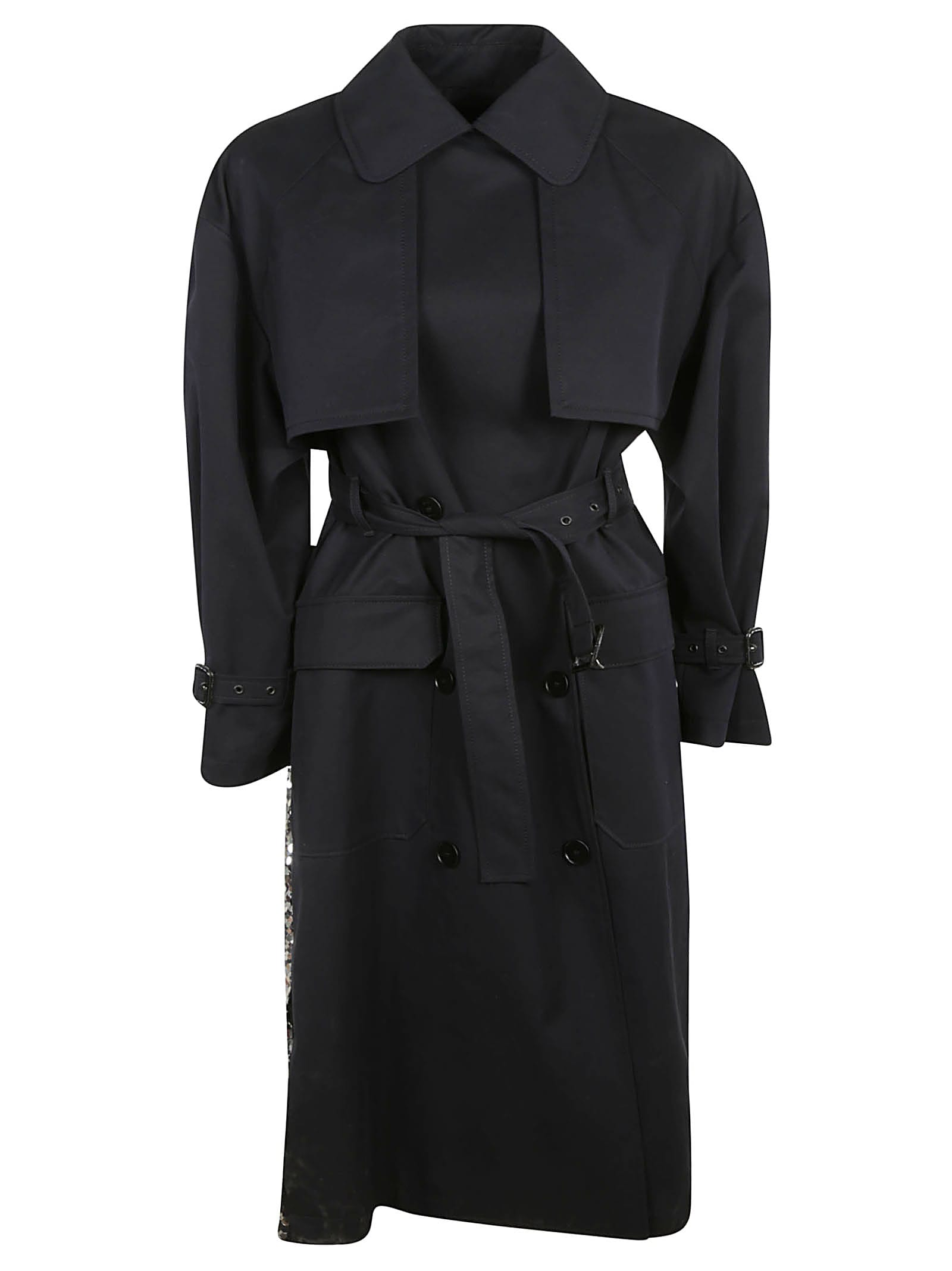 MSGM Belted Coat