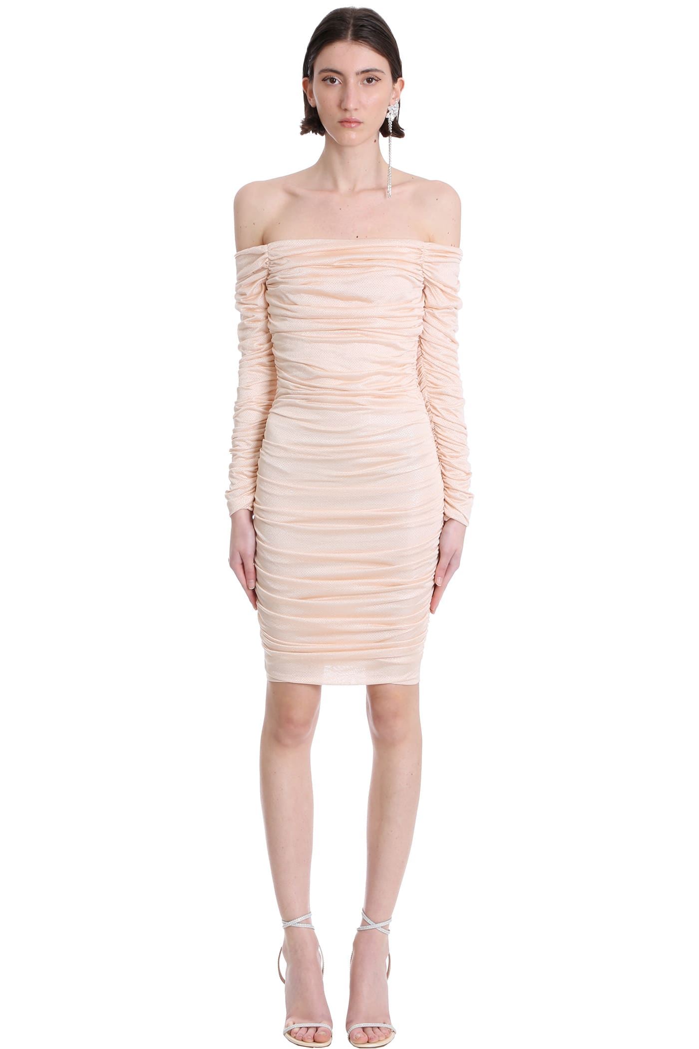 Alexandre Vauthier Dress In Rose-pink Viscose