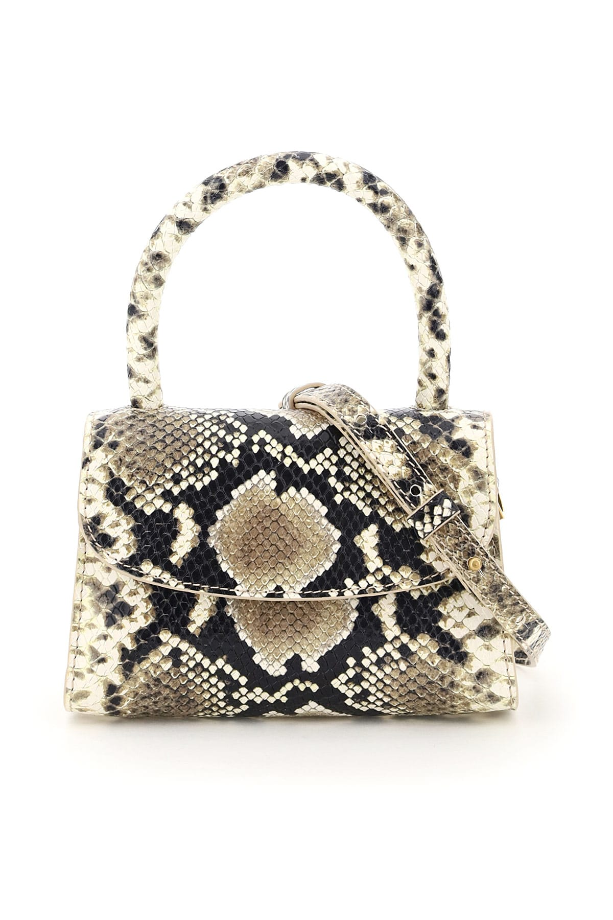 By Far MINI PYTHON PRINT BAG