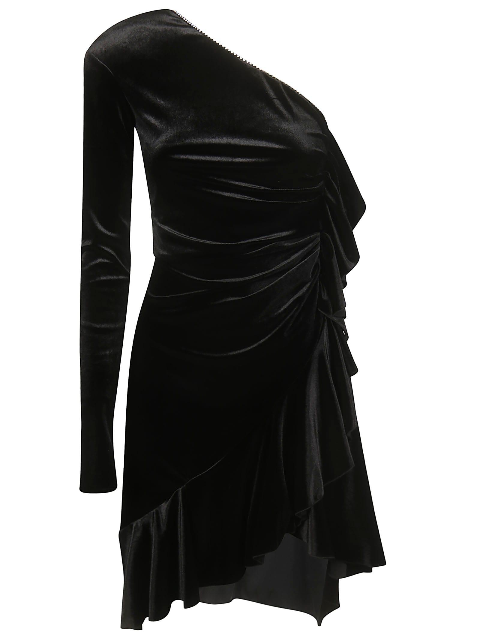 Philosophy di Lorenzo Serafini Off-shoulder Dress