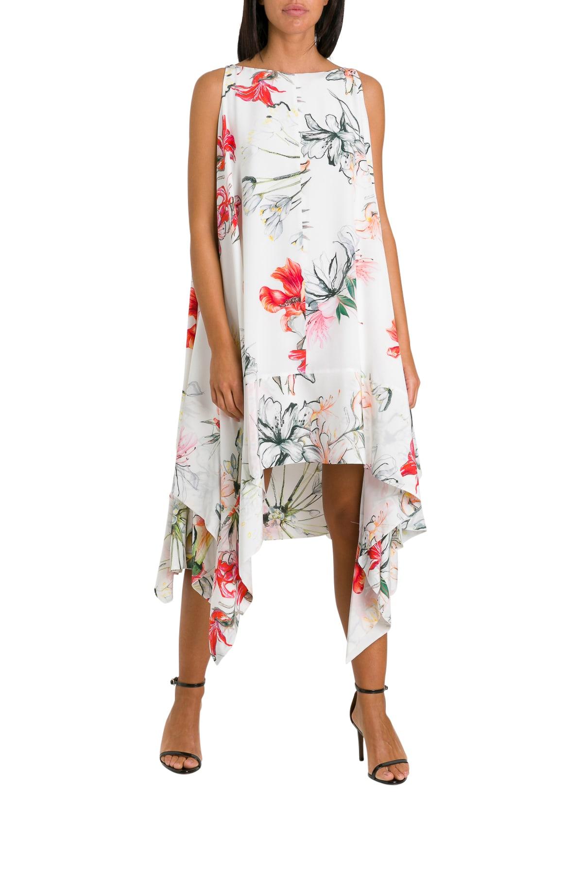 Buy Alexander McQueen Floral Dress online, shop Alexander McQueen with free shipping