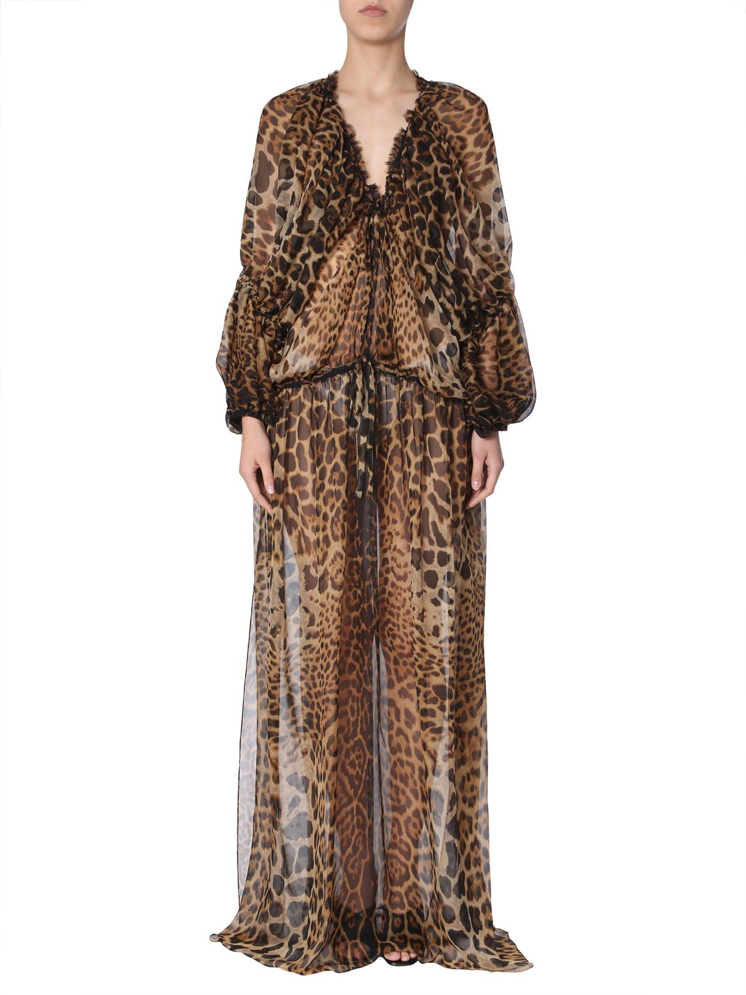 Buy Saint Laurent Long Dress online, shop Saint Laurent with free shipping