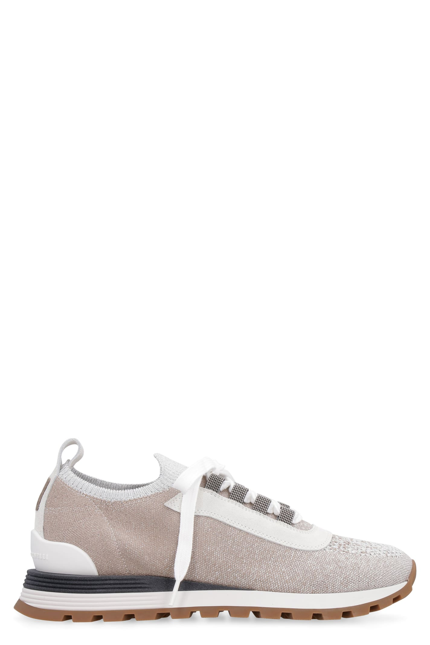 Knit Low-top Sneakers