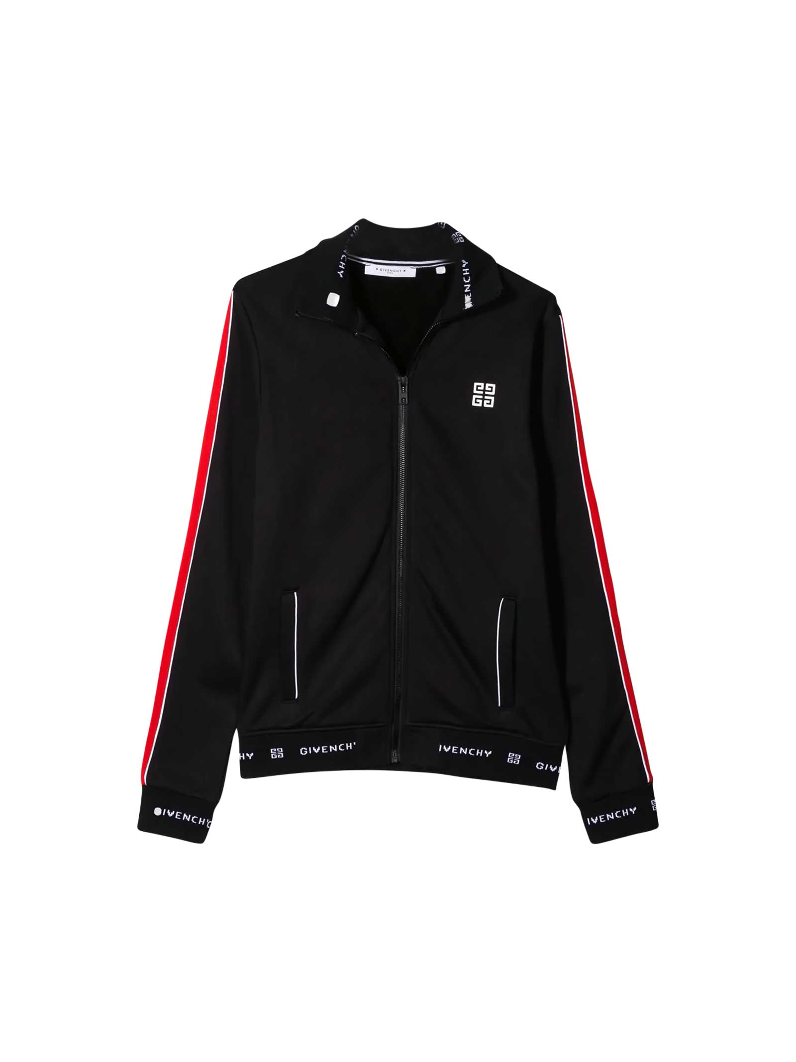 Givenchy Kids' Black Sport Jacket In Nero