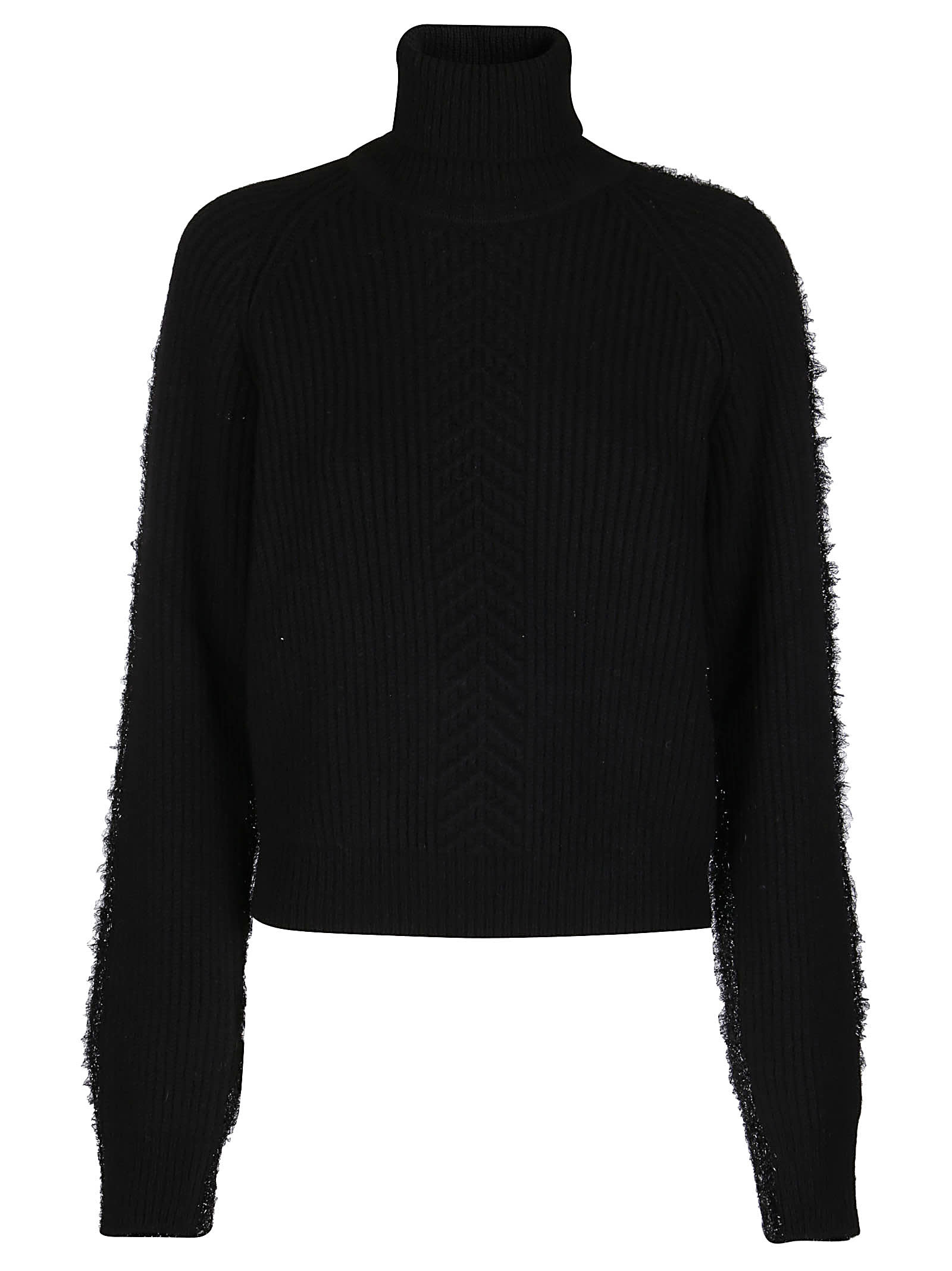 Maison Margiela Black Wool Jumper