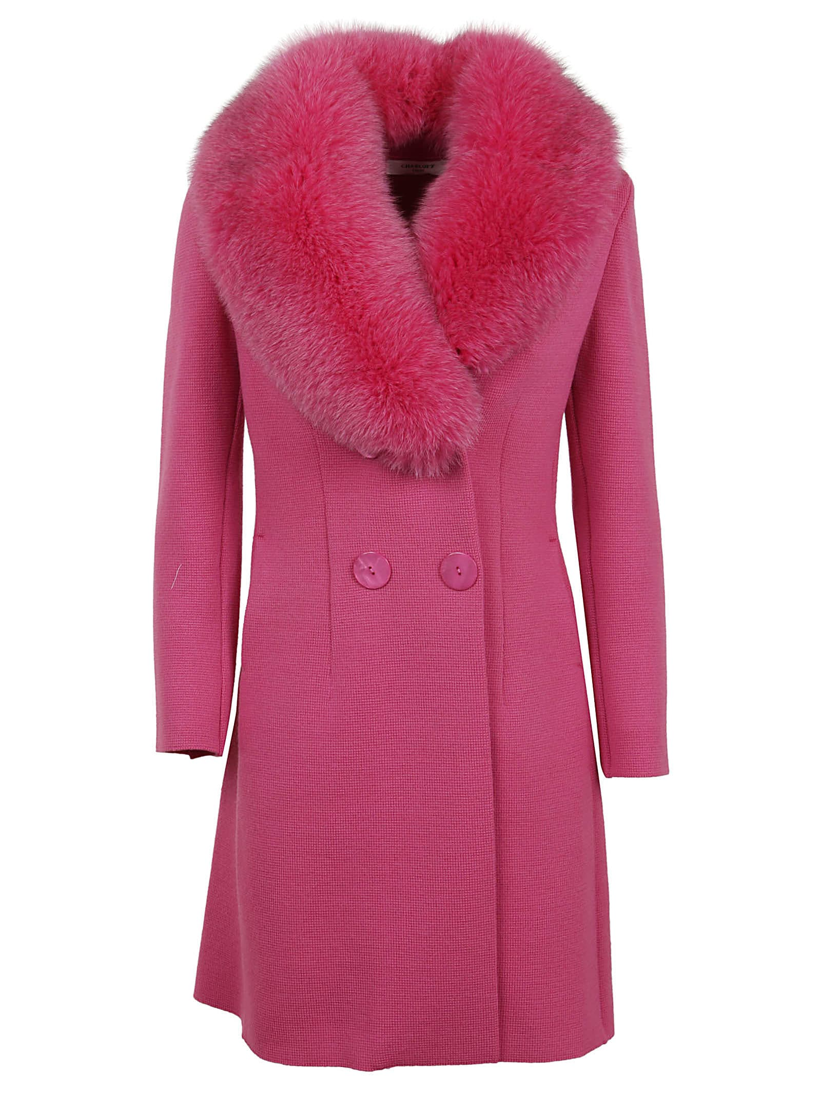 Charlott Collar Fur Coat