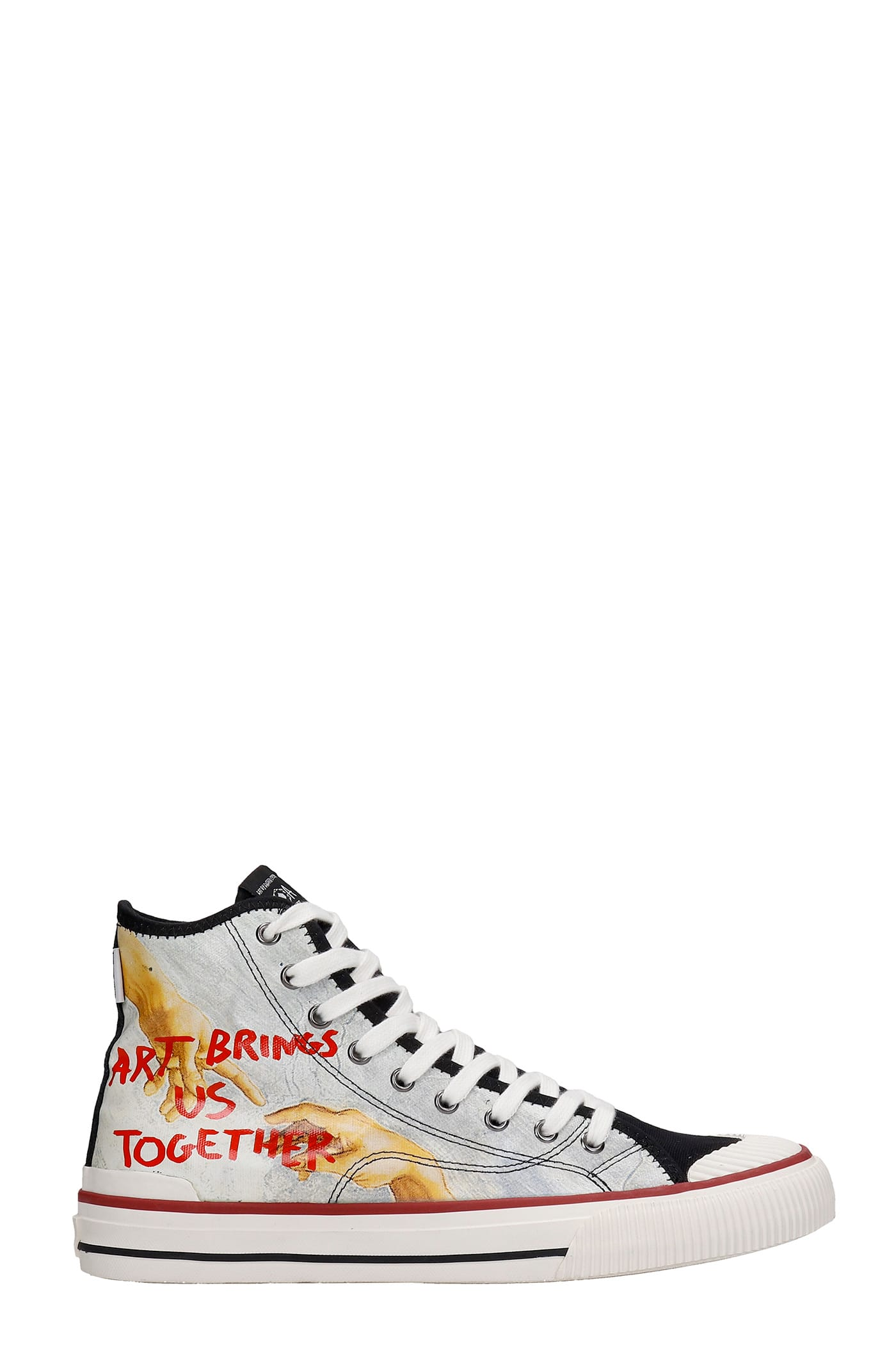 M.O.A. master of arts Sneakers In Black Canvas