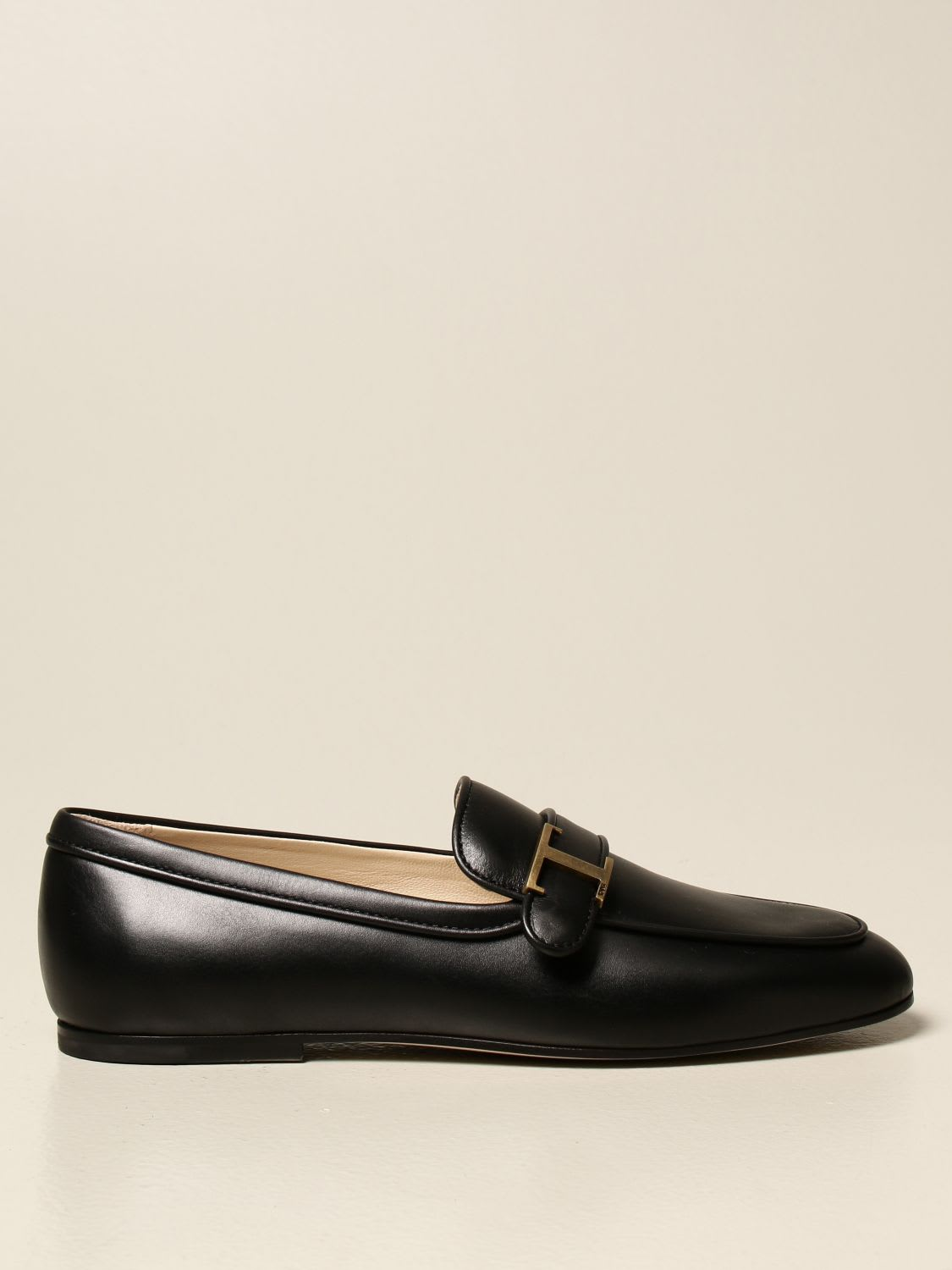 Tods Loafers Tods Loafers In Leather With Logo