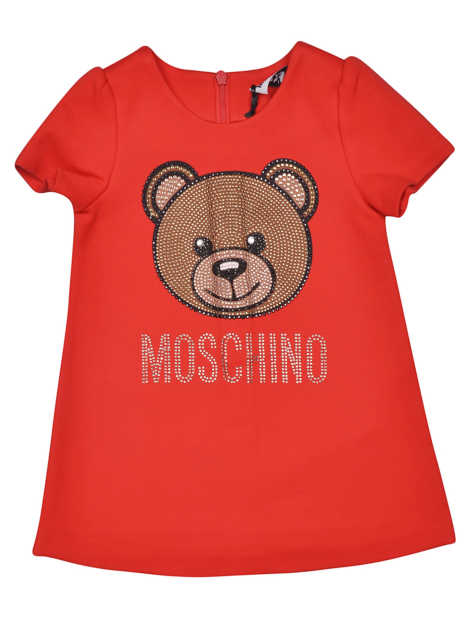 Moschino Bear Logo Dress