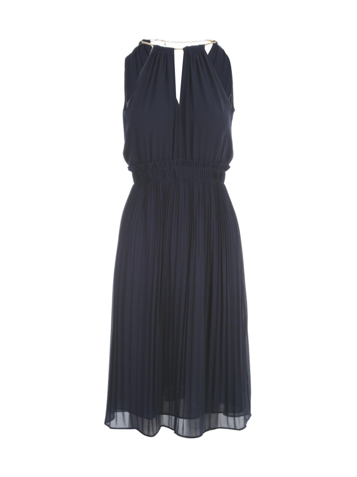 Chain Neck Midi Dress Michael Kors