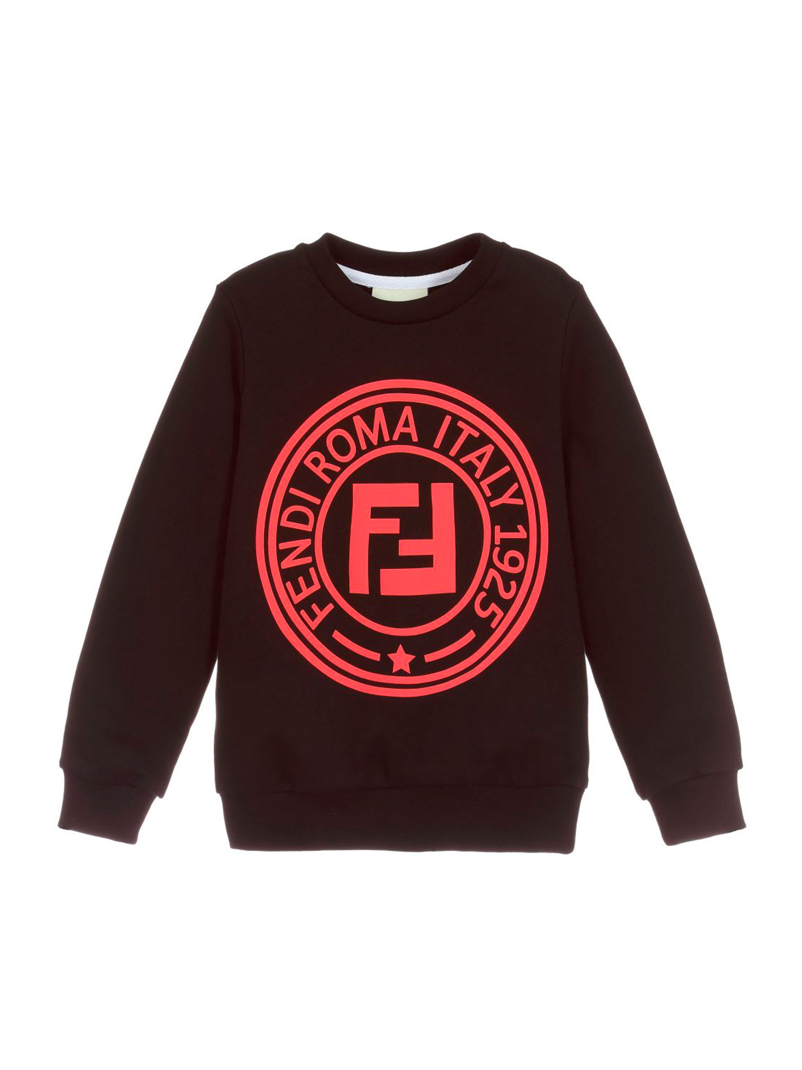 a0d71b6d Fendi Black Sweatshirt Girl