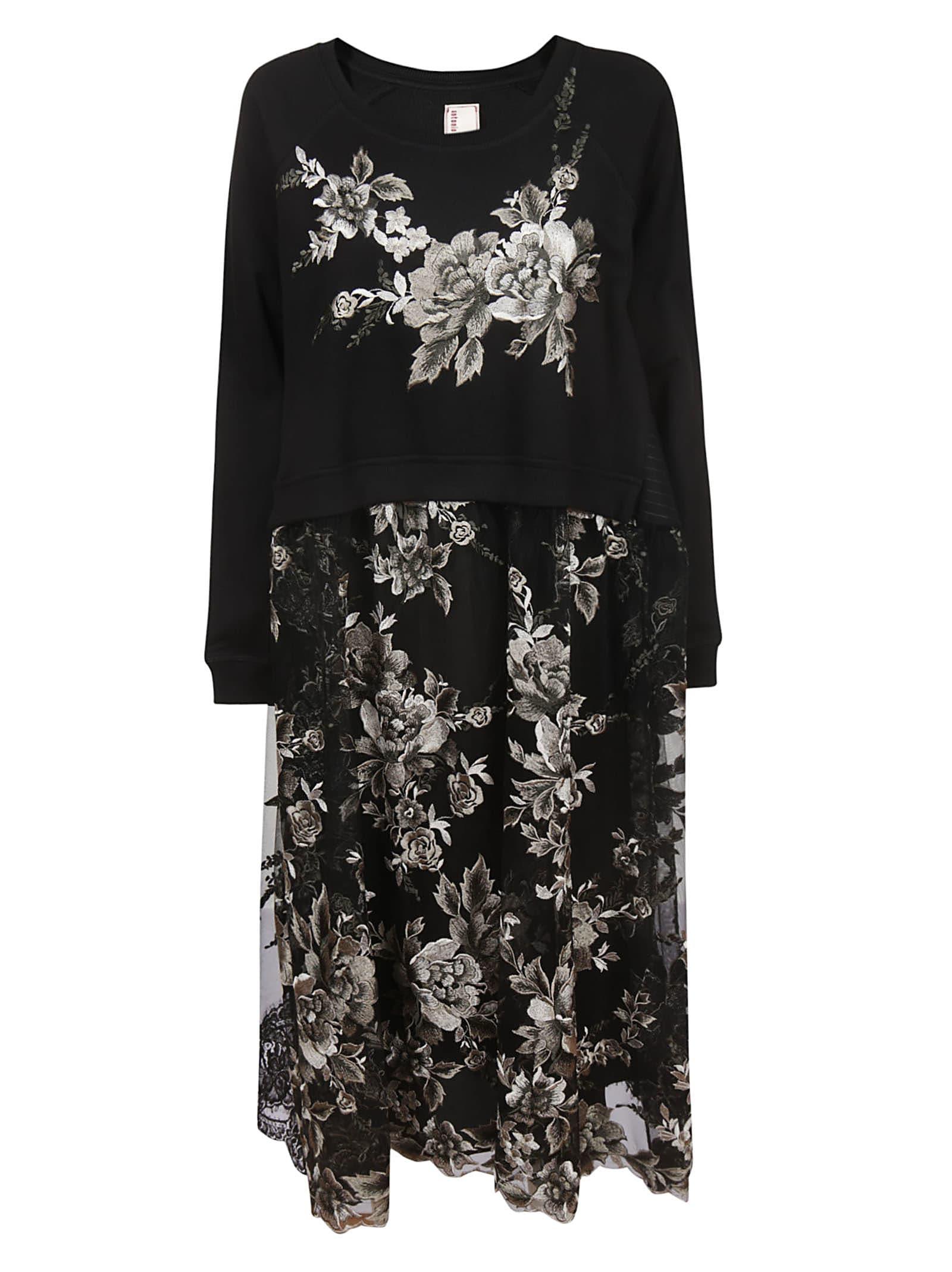 Buy Antonio Marras Floral Dress online, shop Antonio Marras with free shipping