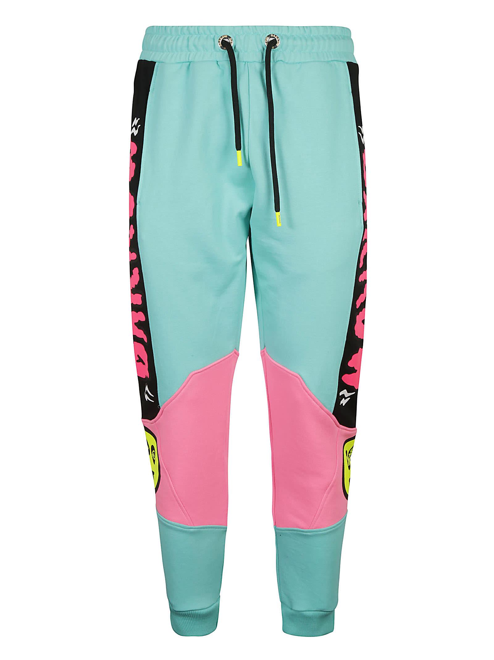 Barrow Clothing SIDE LOGO PRINT TRACK PANTS