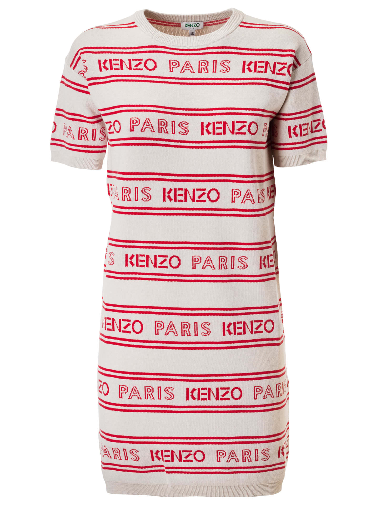 Buy Kenzo All-over Jacquard Dress online, shop Kenzo with free shipping