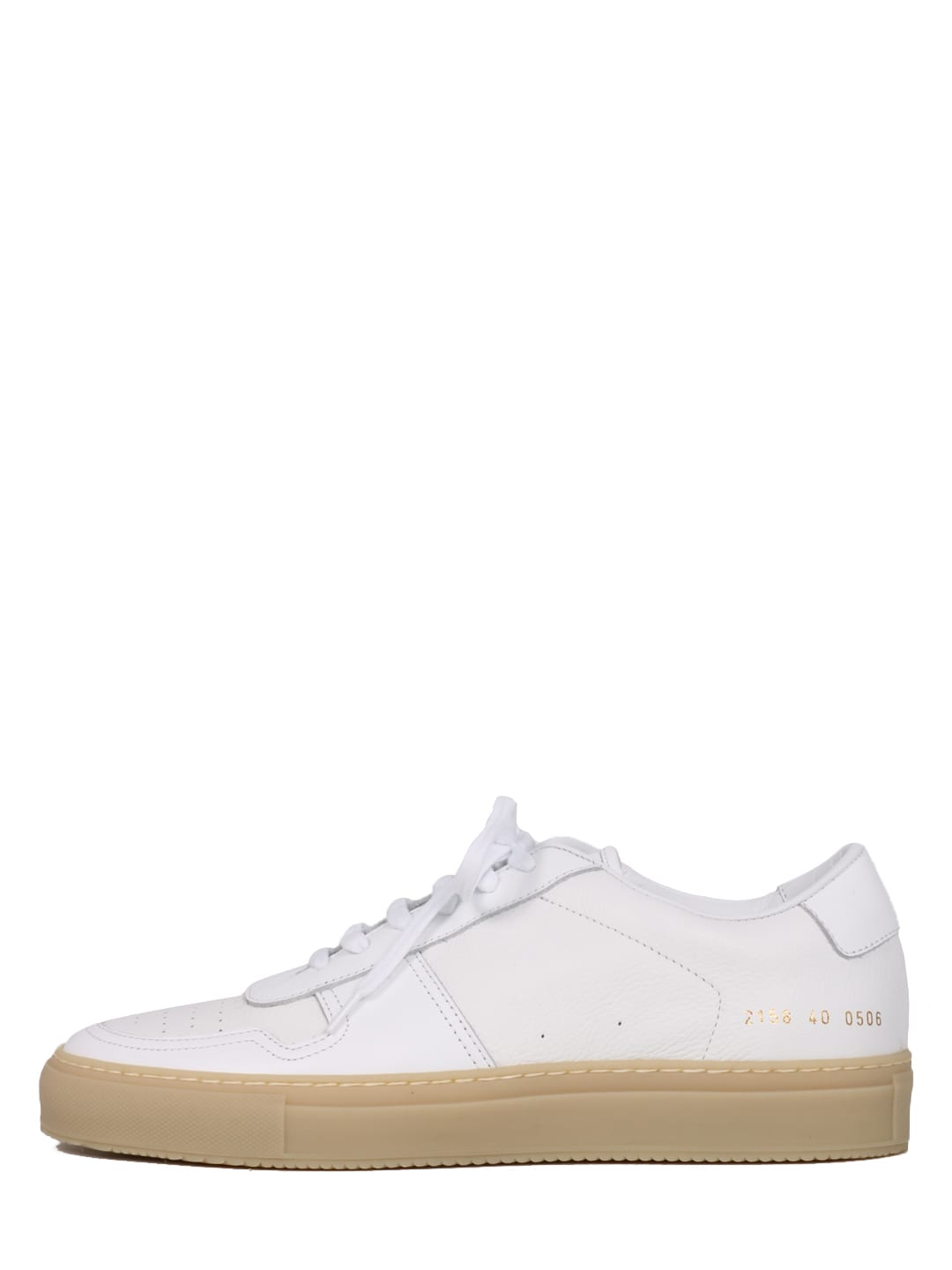Common Projects LEATHER SNEAKERS WHITE