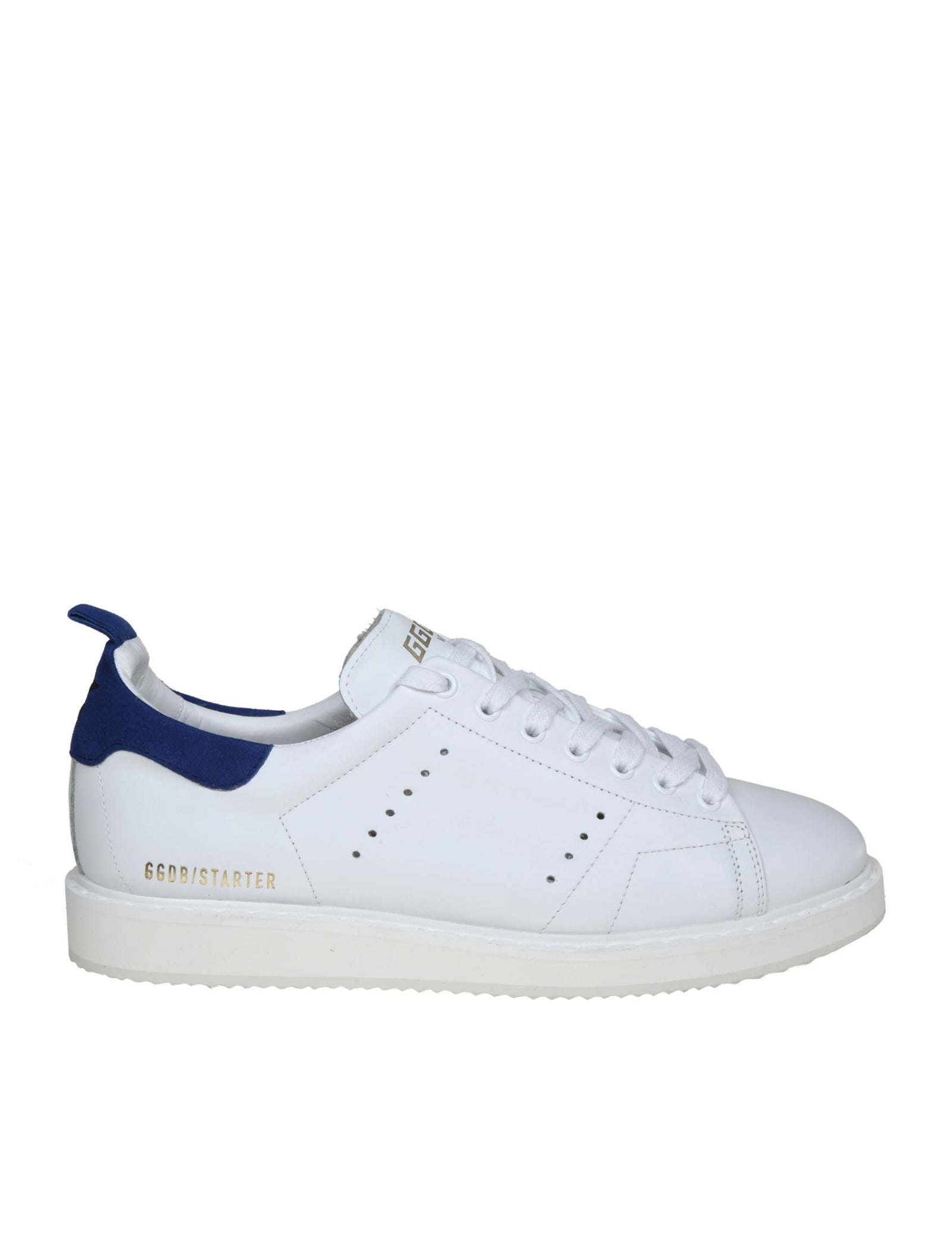 141172c026 Golden Goose Sneakers Starter In White Leather