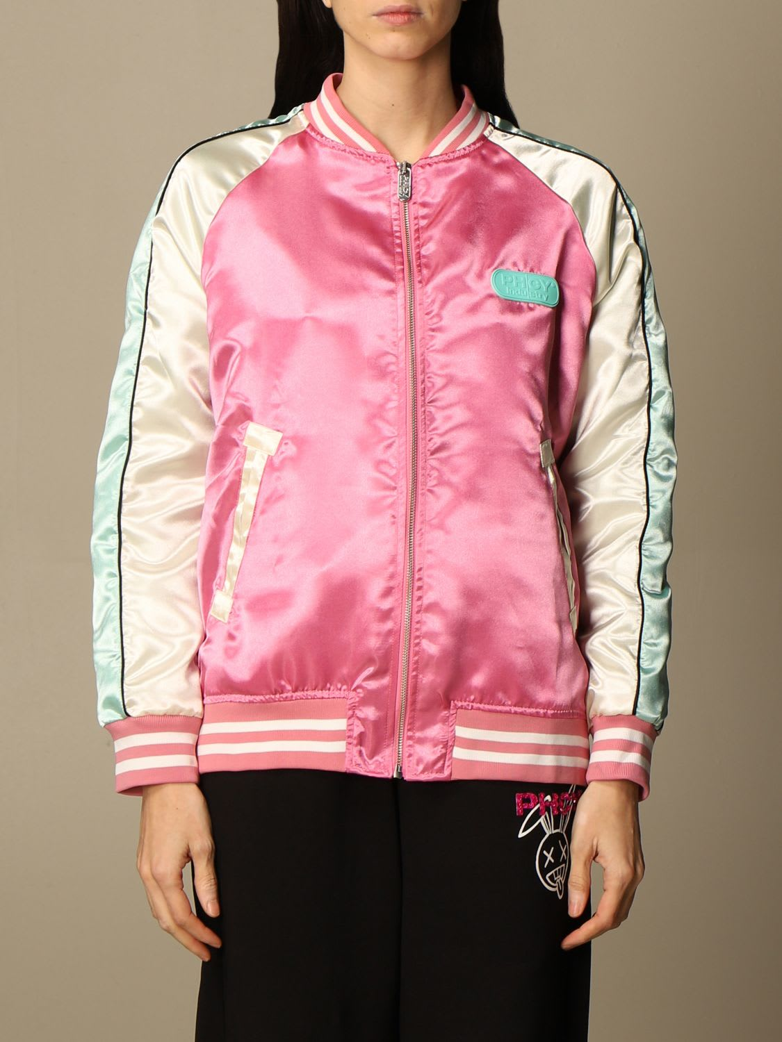 Pharmacy Industry Jacket Pharmacy Industry Bomber Jacket With Mouth Patch