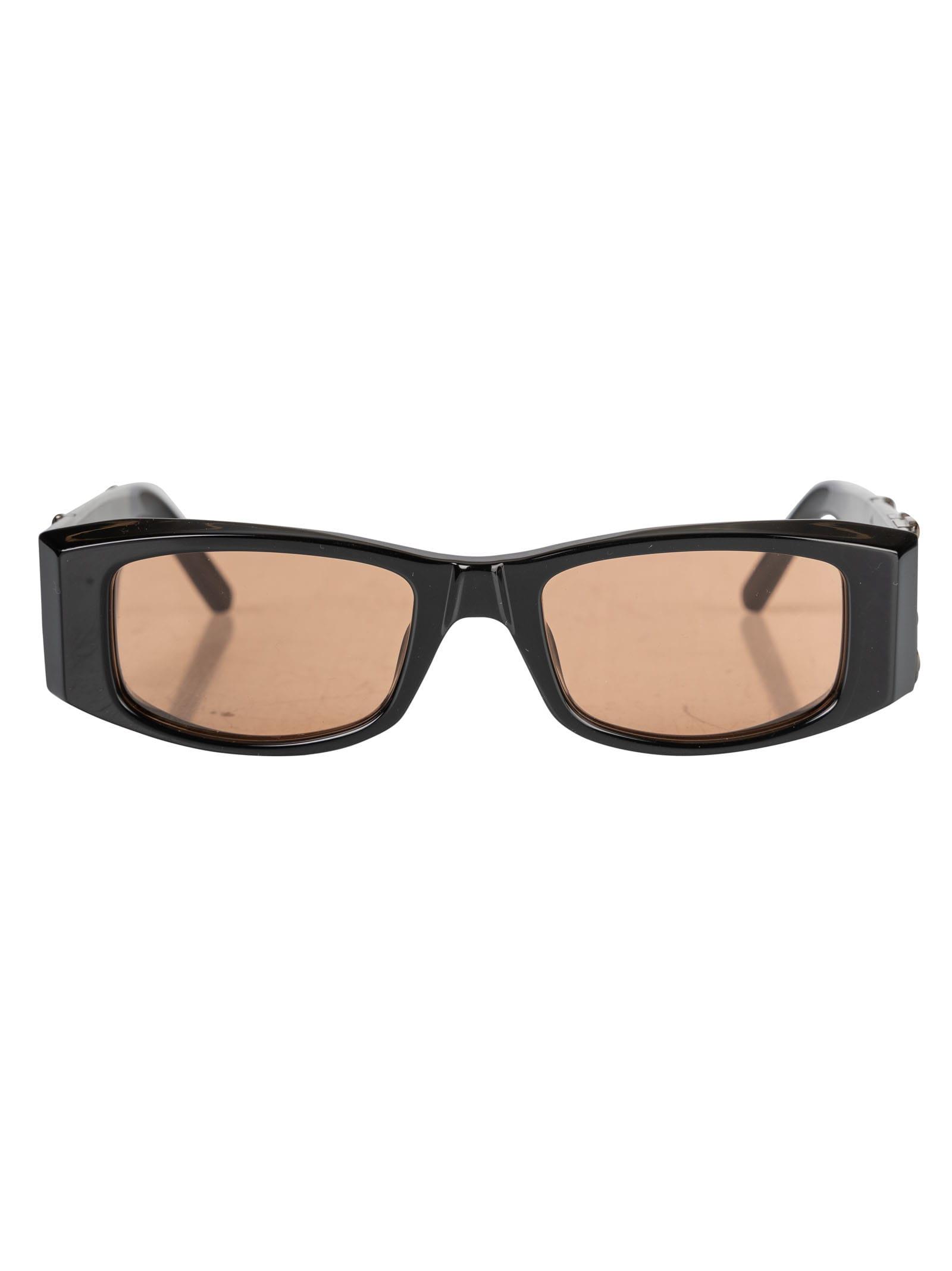 Palm Angels Pa01 Sunglasses In Black/orange