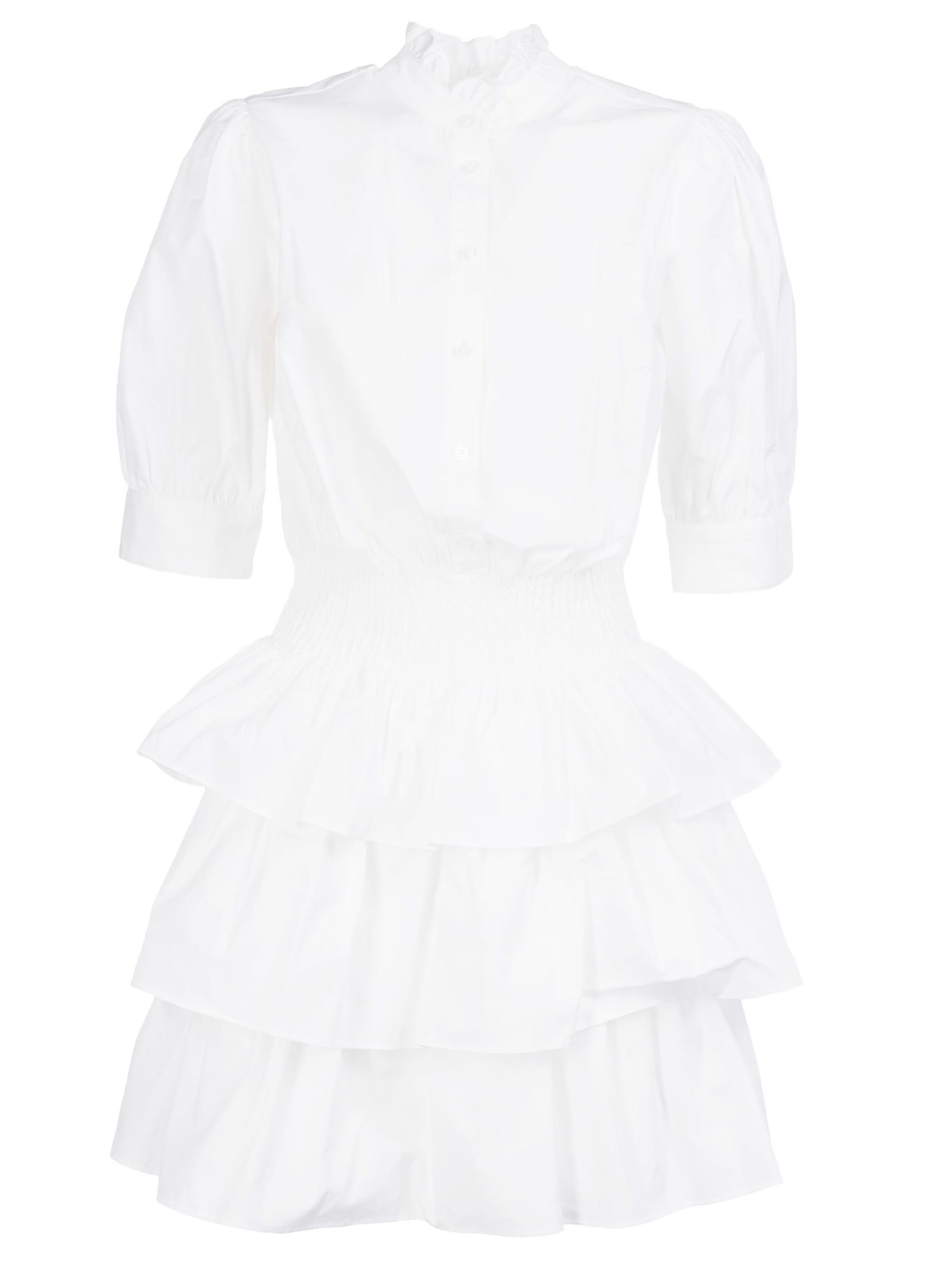 Buy Michael Kors Layered Shirt Dress online, shop Michael Kors with free shipping
