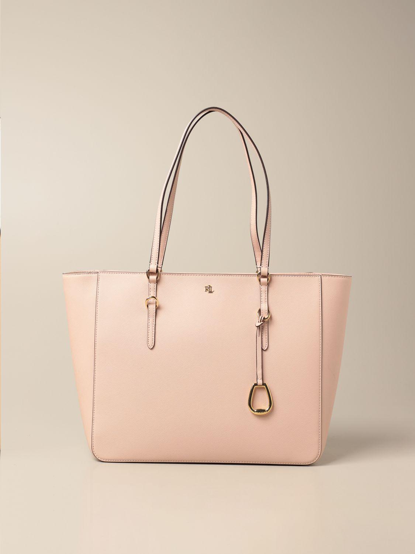 Lauren Ralph Lauren Shoulder Bag Lauren Ralph Lauren Handbag In Saffiano Leather