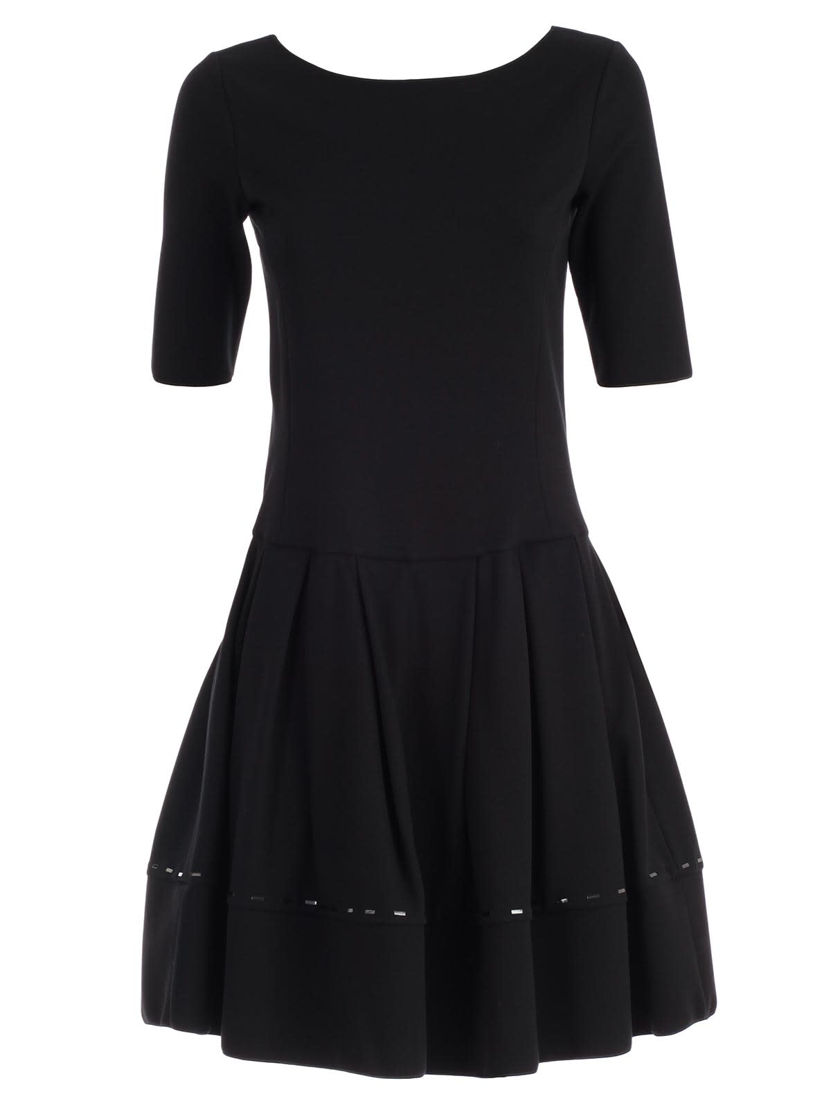 Emporio Armani Dress S & s A-line W & baguette