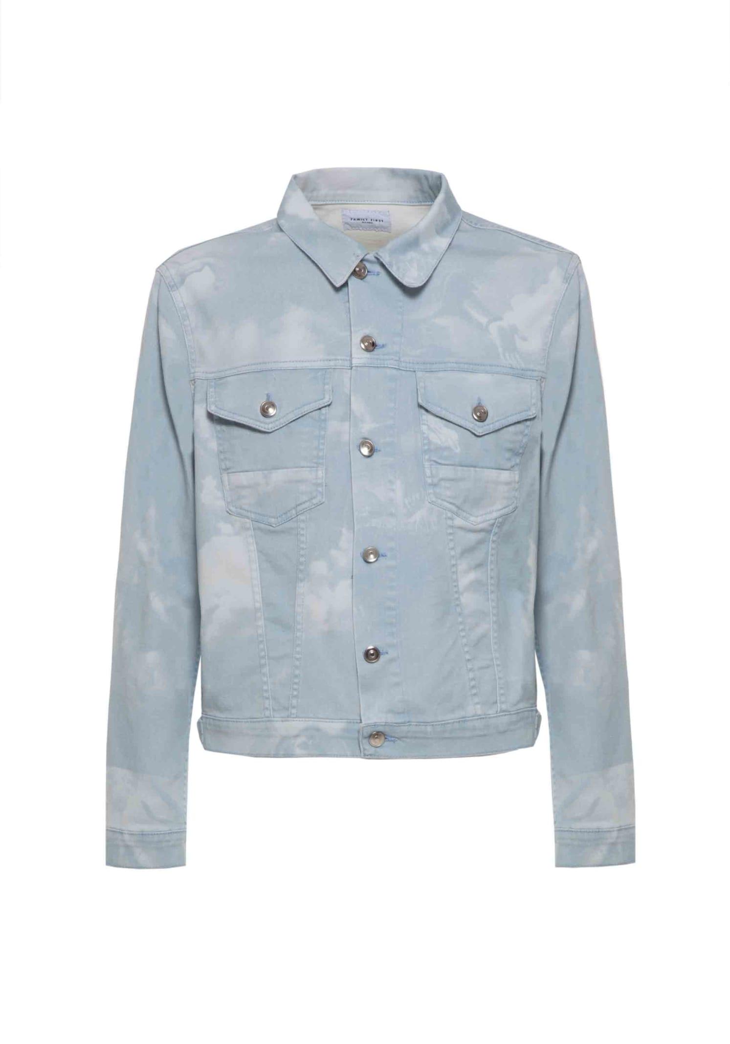 Jacket Denim The Saints Light Blue