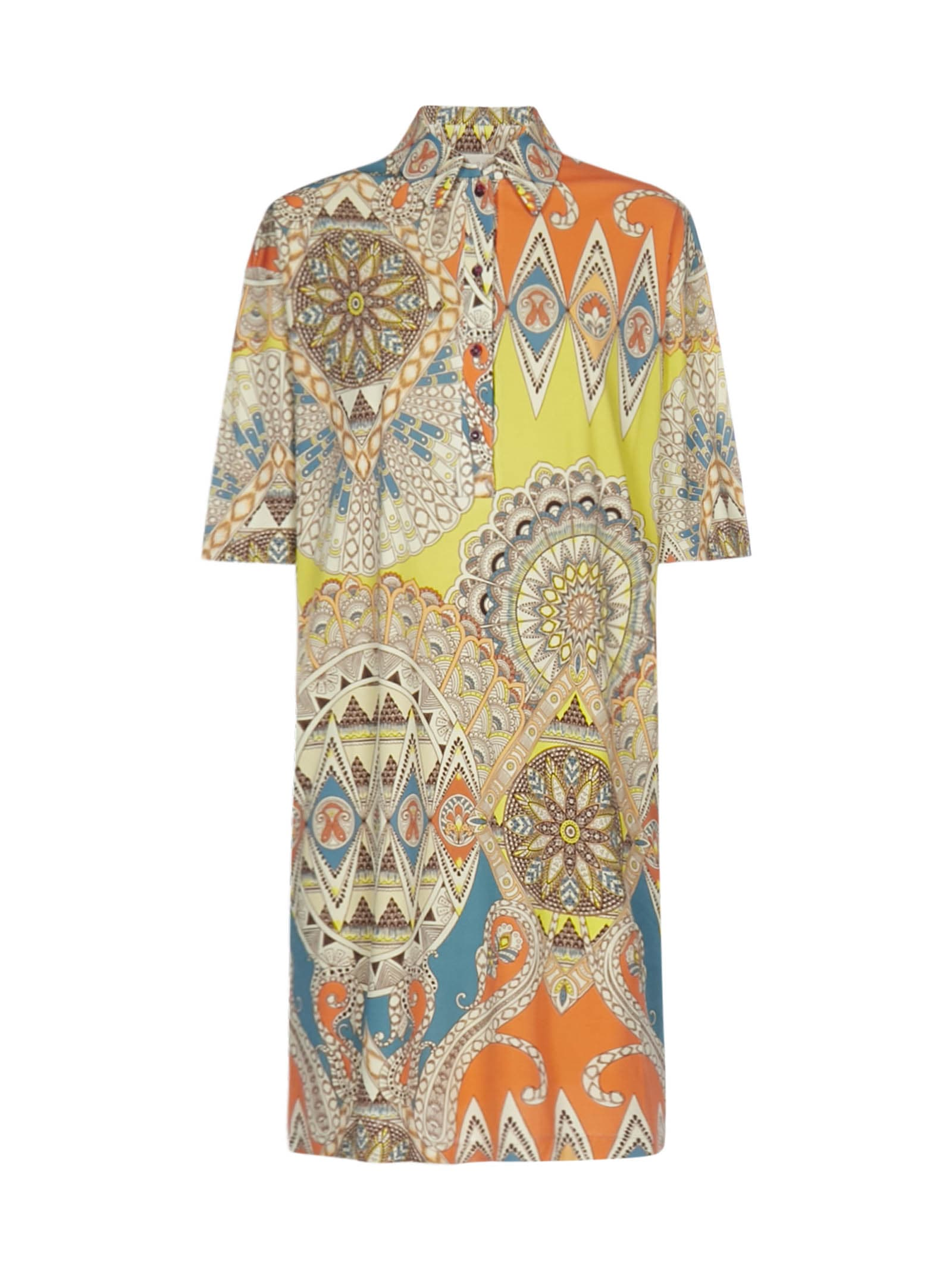 Buy Etro Polo Dress online, shop Etro with free shipping