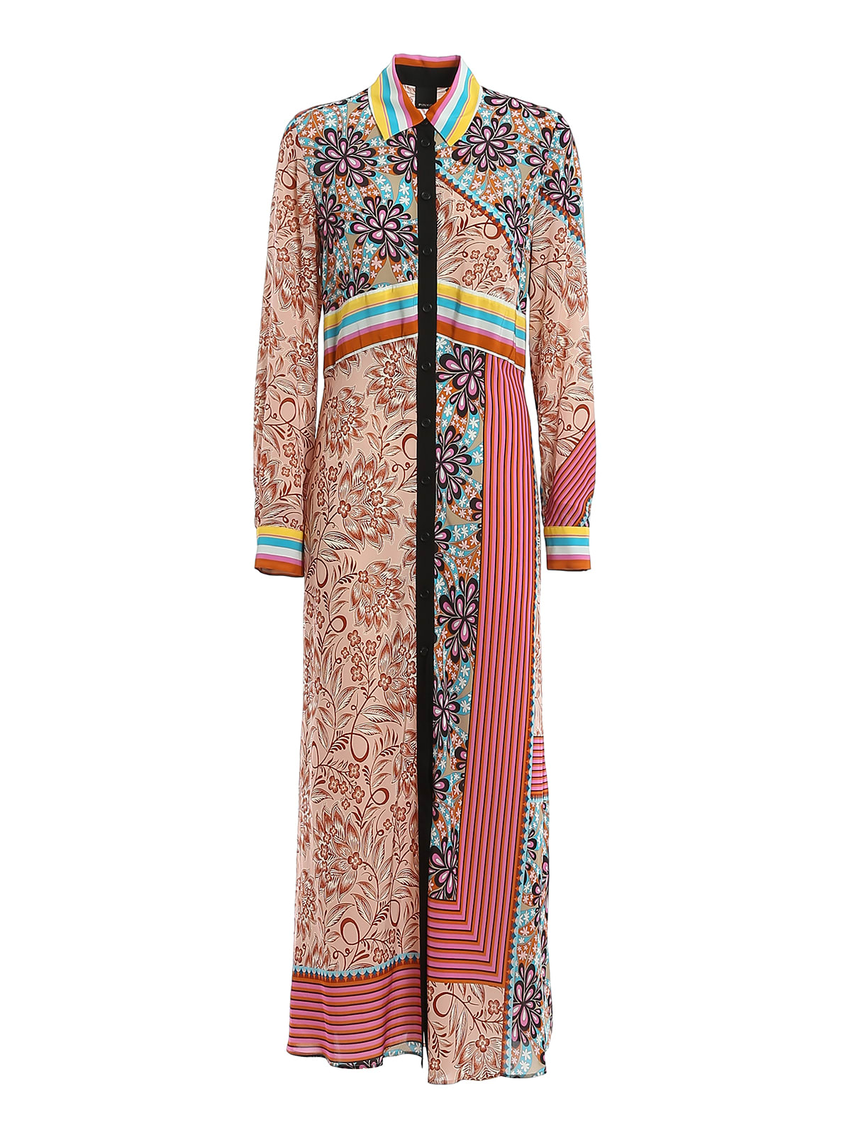 Buy Pinko Granetti Dress Habutay online, shop Pinko with free shipping
