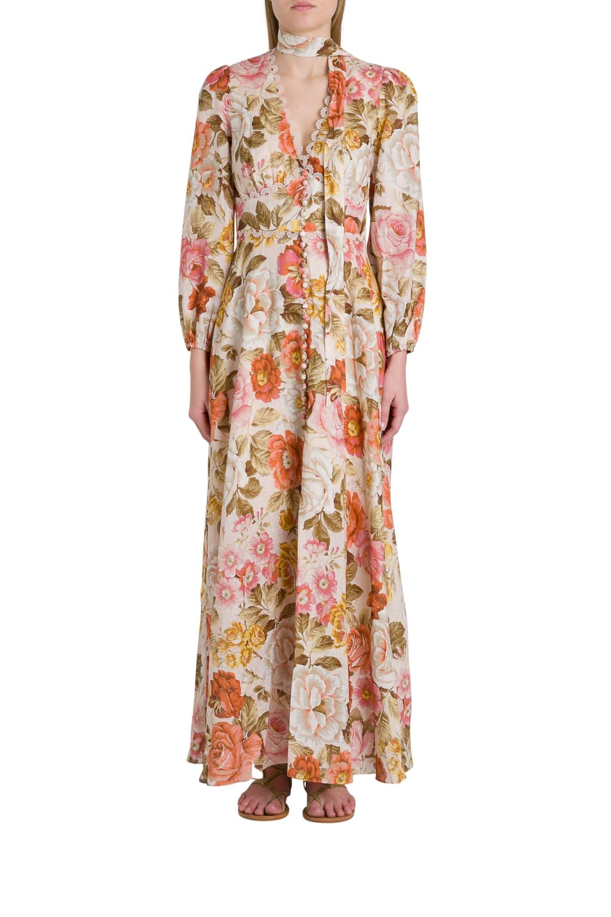 Buy Zimmermann Bonita Dress online, shop Zimmermann with free shipping