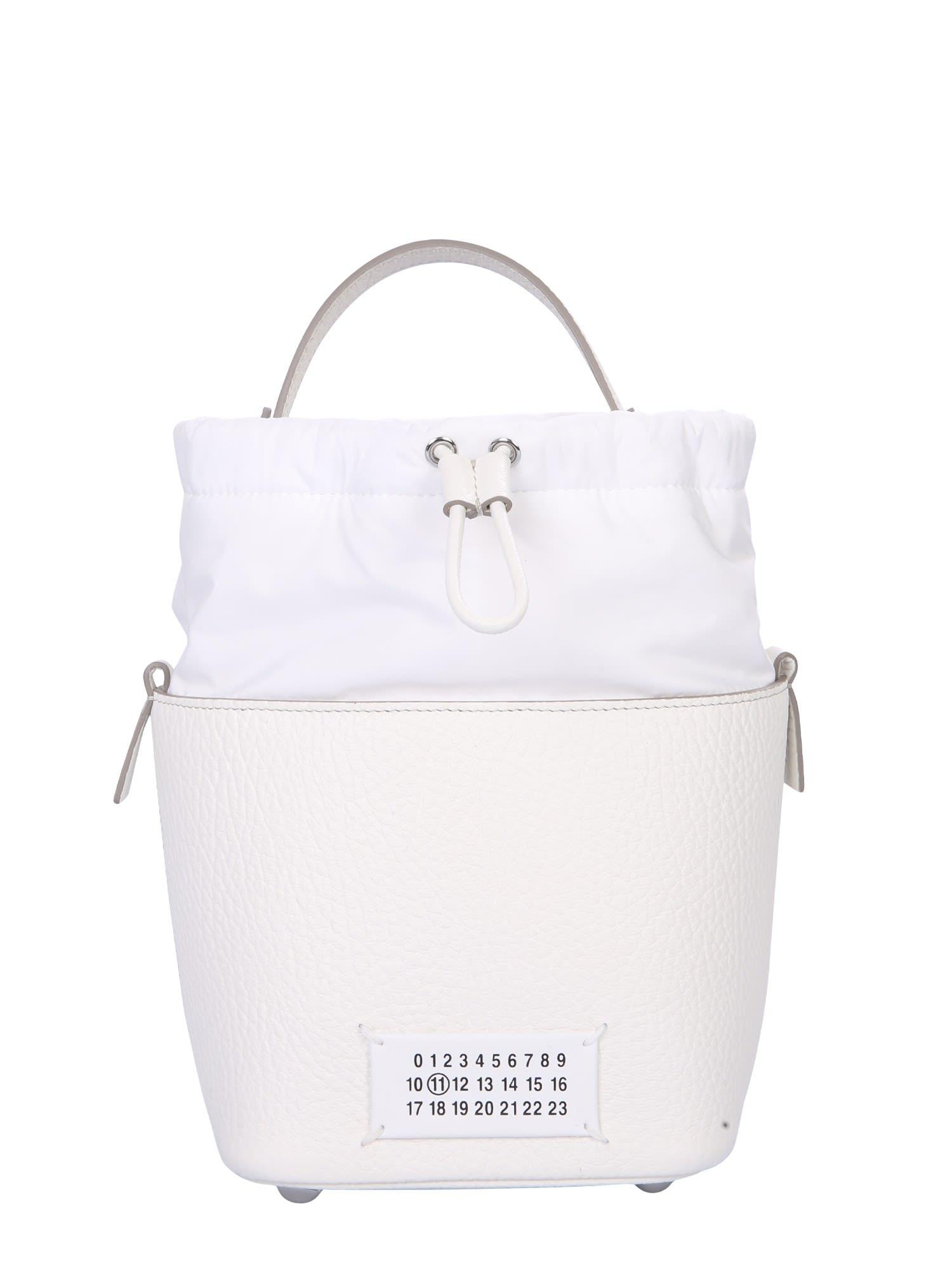 Maison Margiela Bucket Bag With Logo