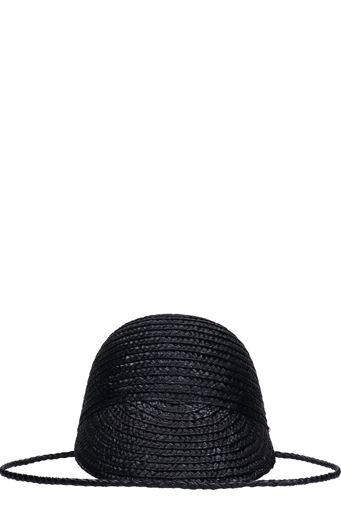 Hats In Black Wool And Polyamide