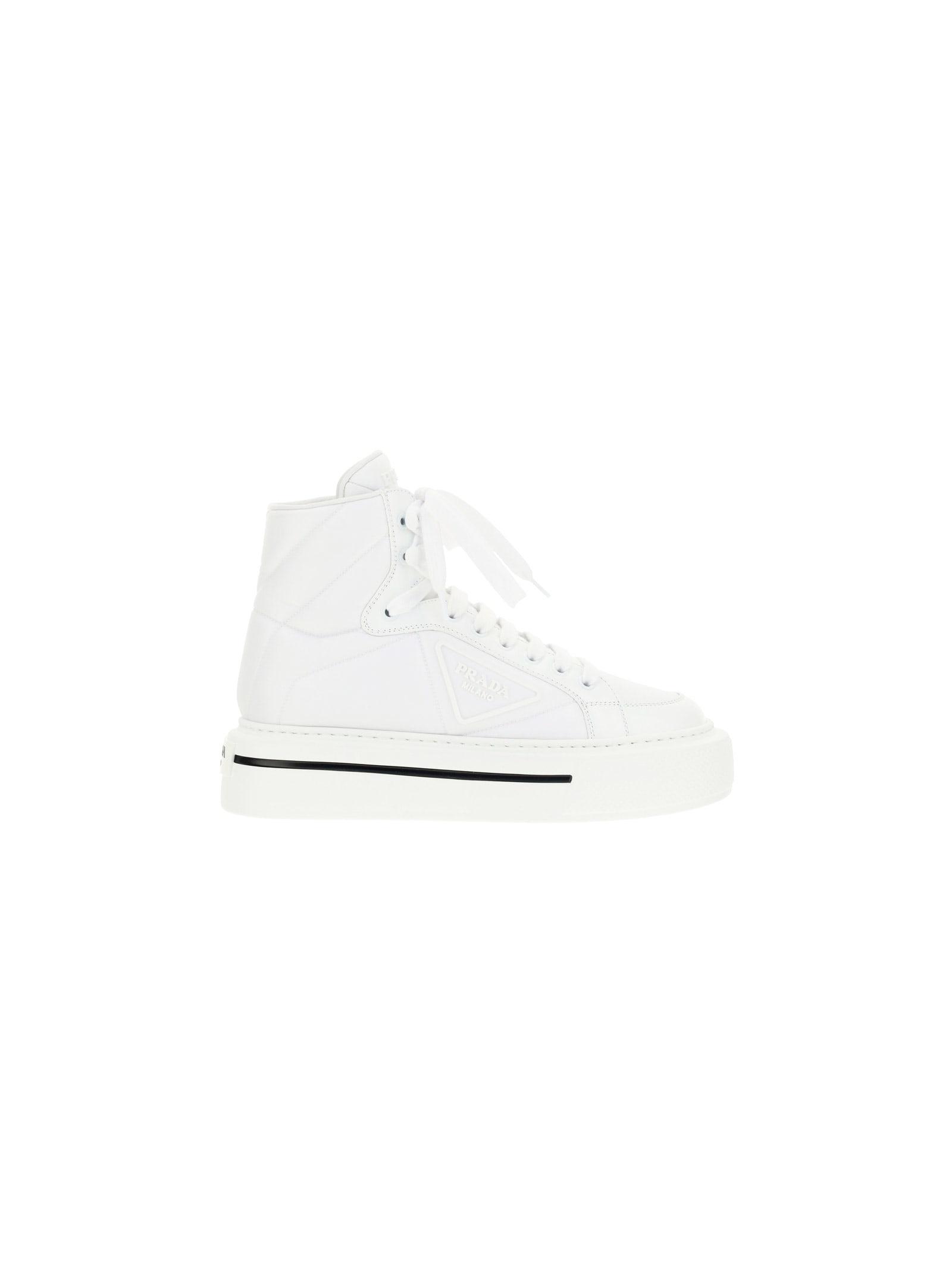 Buy Prada Macro S Sneakers online, shop Prada shoes with free shipping