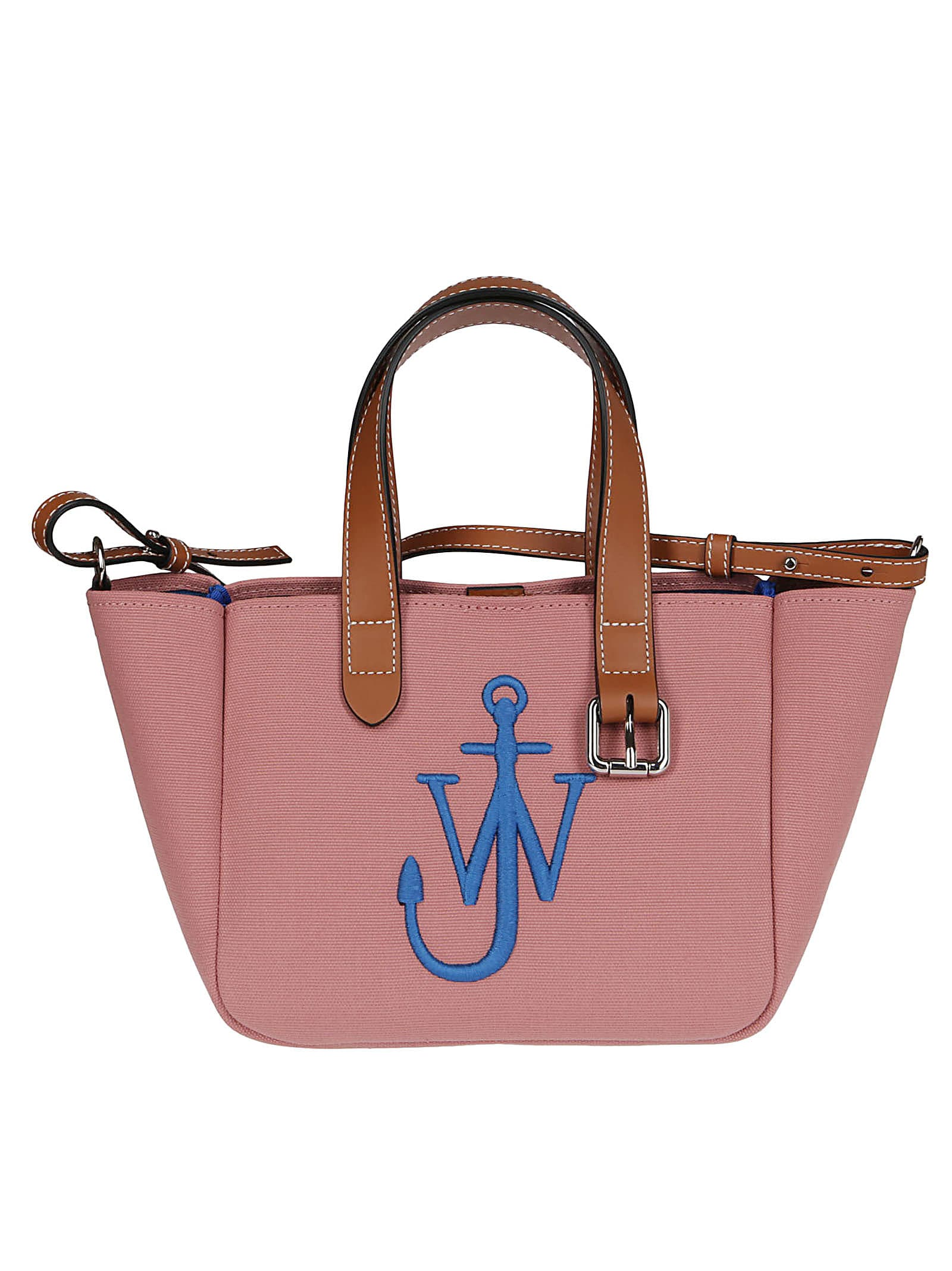 Jw Anderson Totes PINK LEATHER TOTE BAG