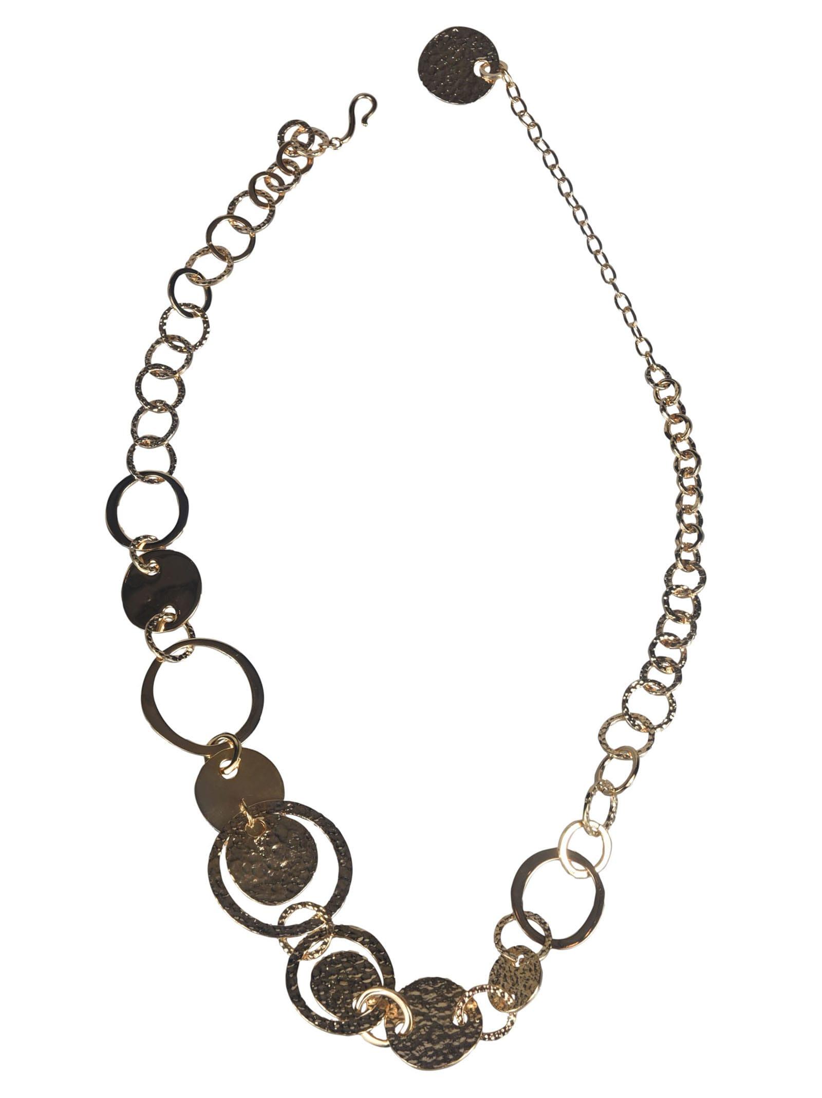 Alberta Ferretti Medal Necklace