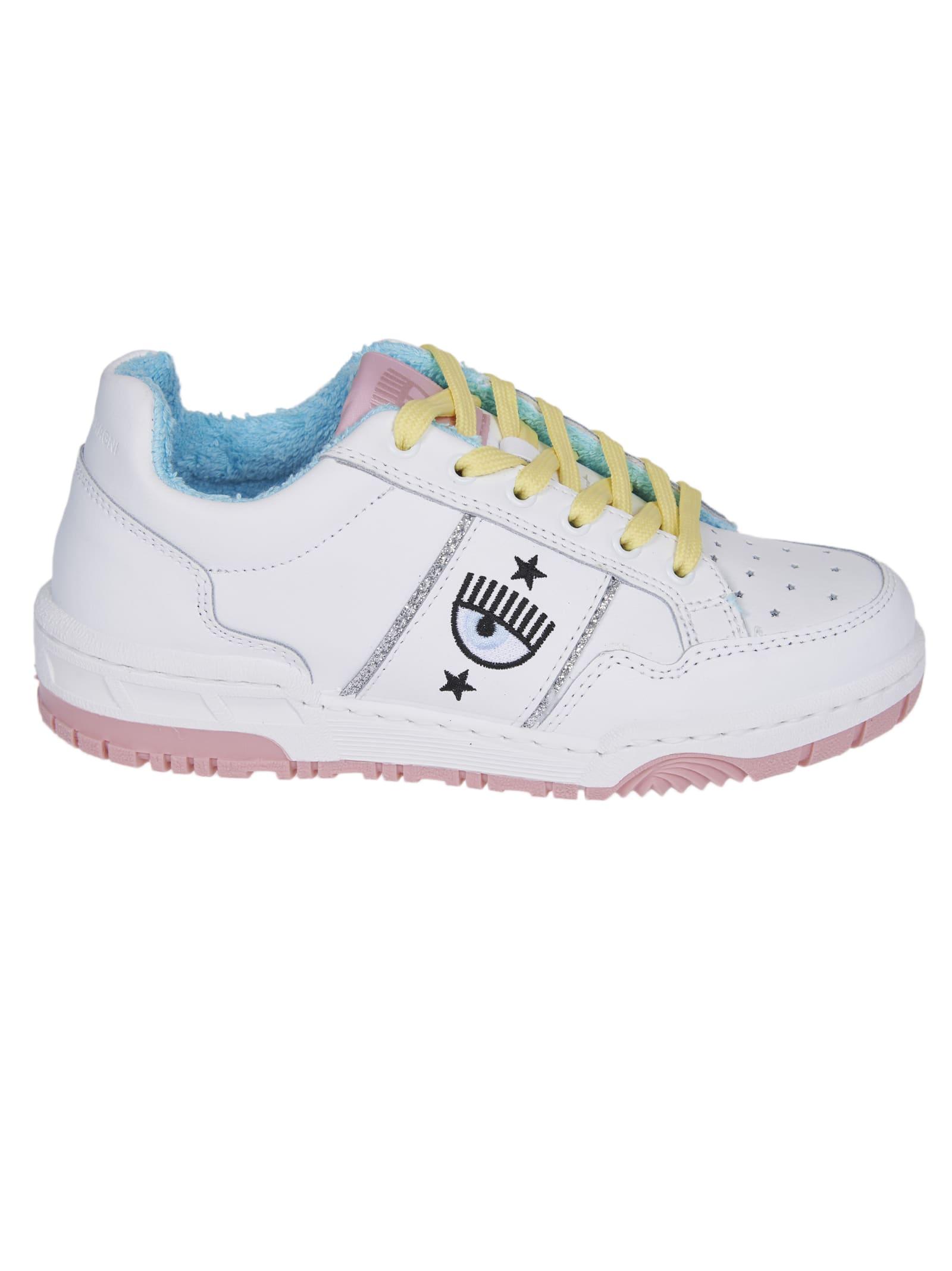 Chiara Ferragni Sneakers WHITE CF-1 SNEAKERS