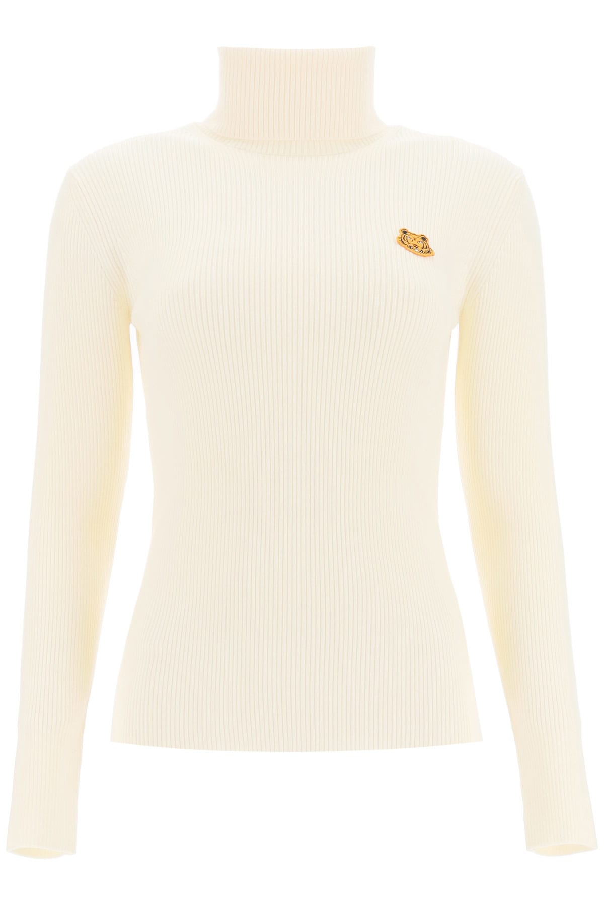 Kenzo TURTLENECK SWEATER WITH TIGHER PATCH