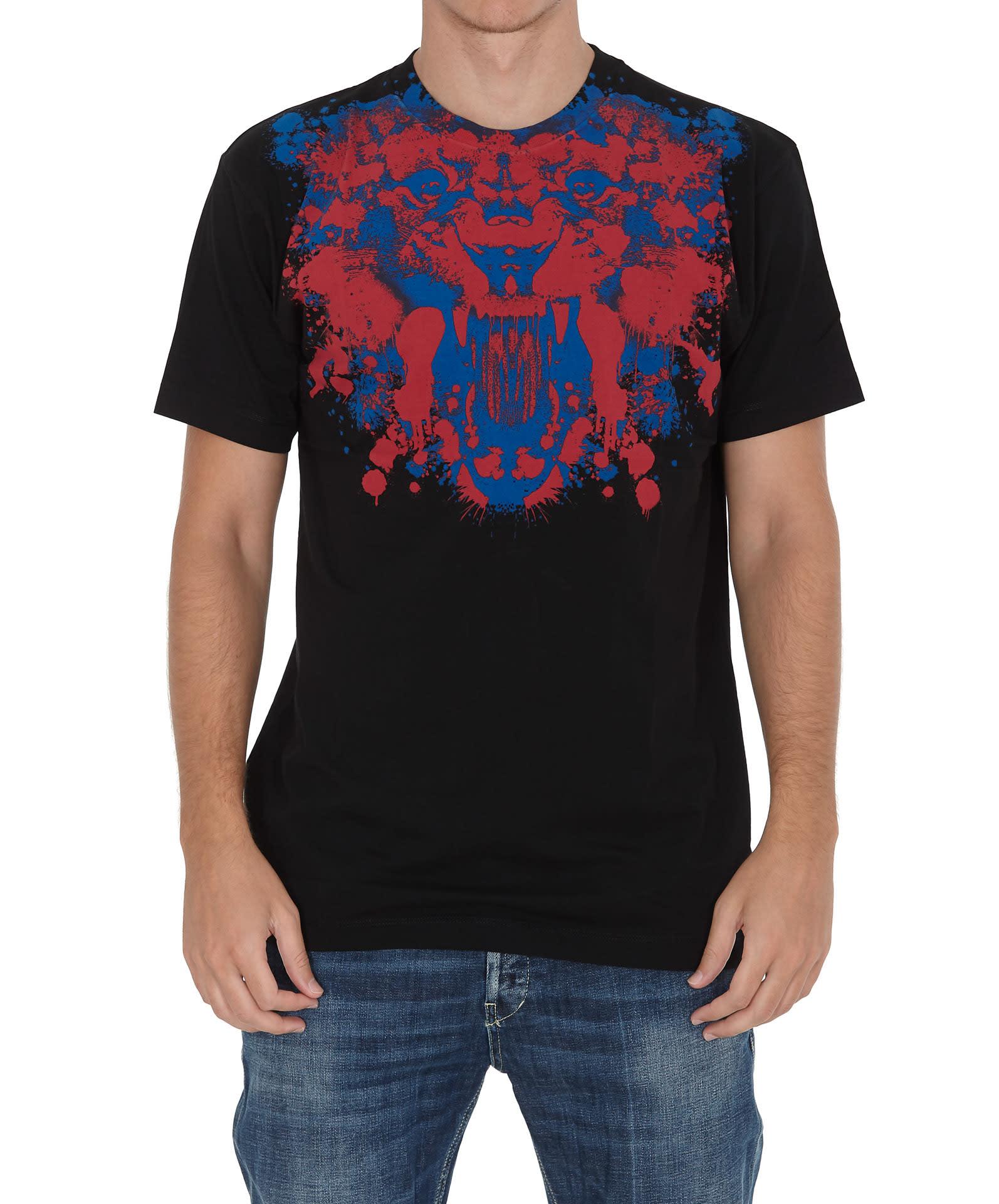 Marcelo Burlon Front Tiger T-shirt