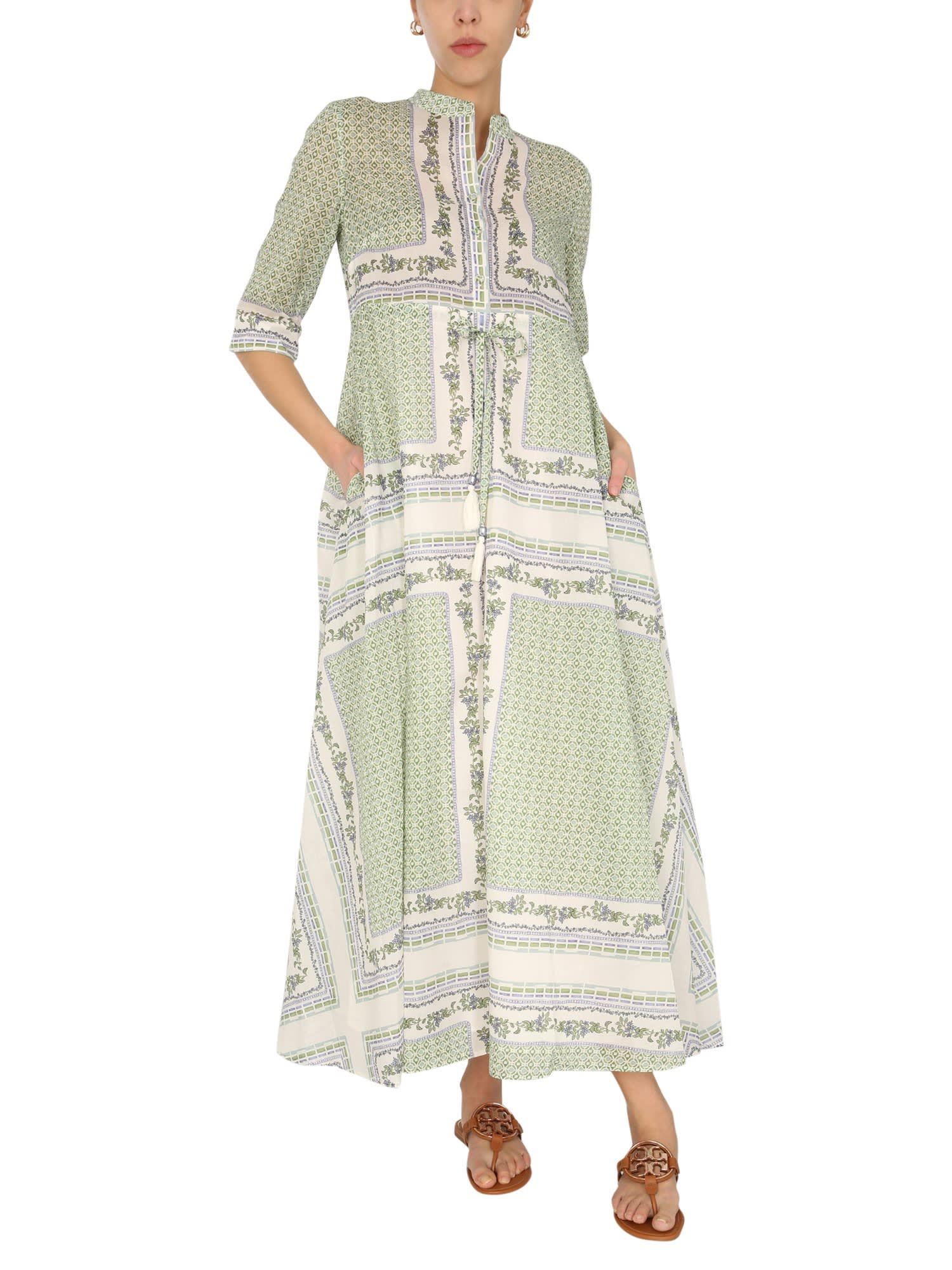 Buy Tory Burch Cotton Voile Chemisier online, shop Tory Burch with free shipping