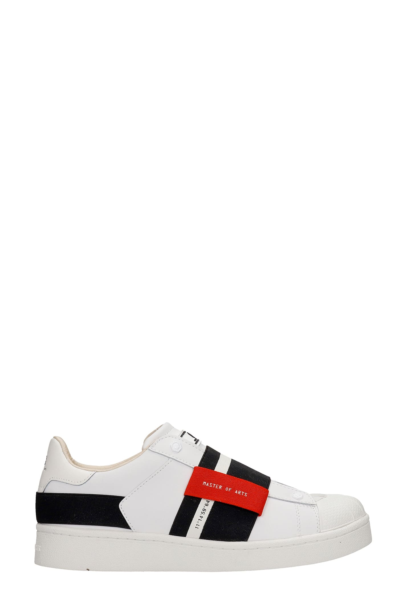 M.O.A. master of arts Sneakers In White Leather