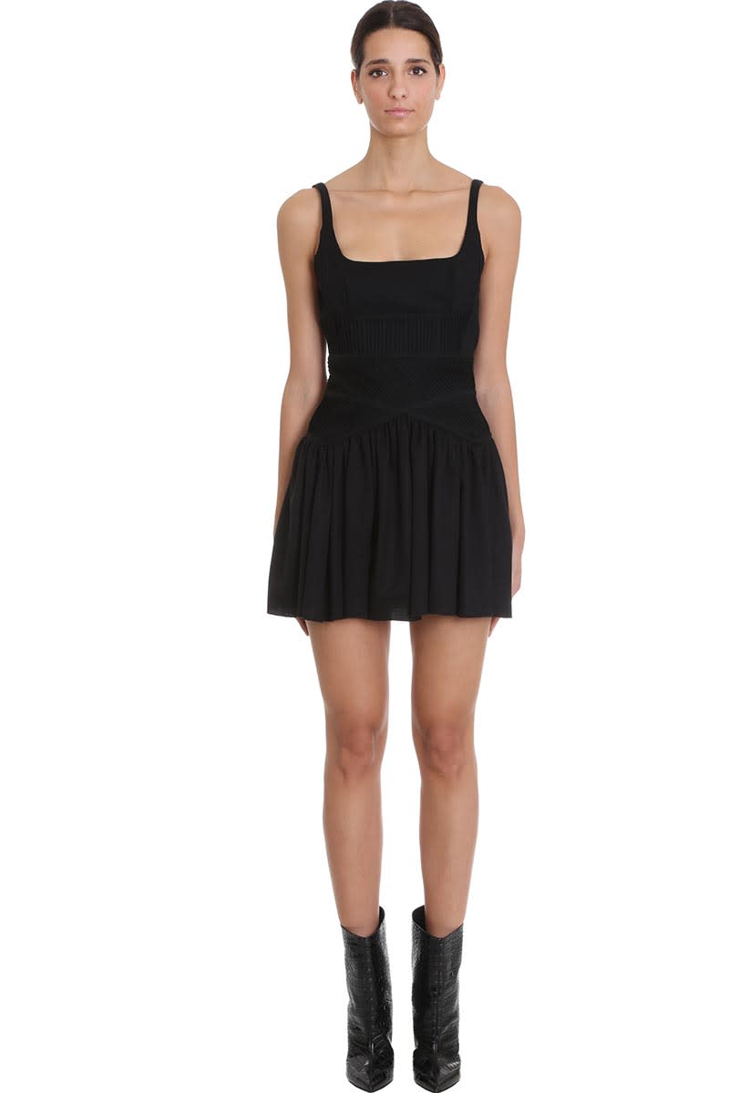 Buy Giovanni Bedin Dress In Black Cotton online, shop Giovanni Bedin with free shipping