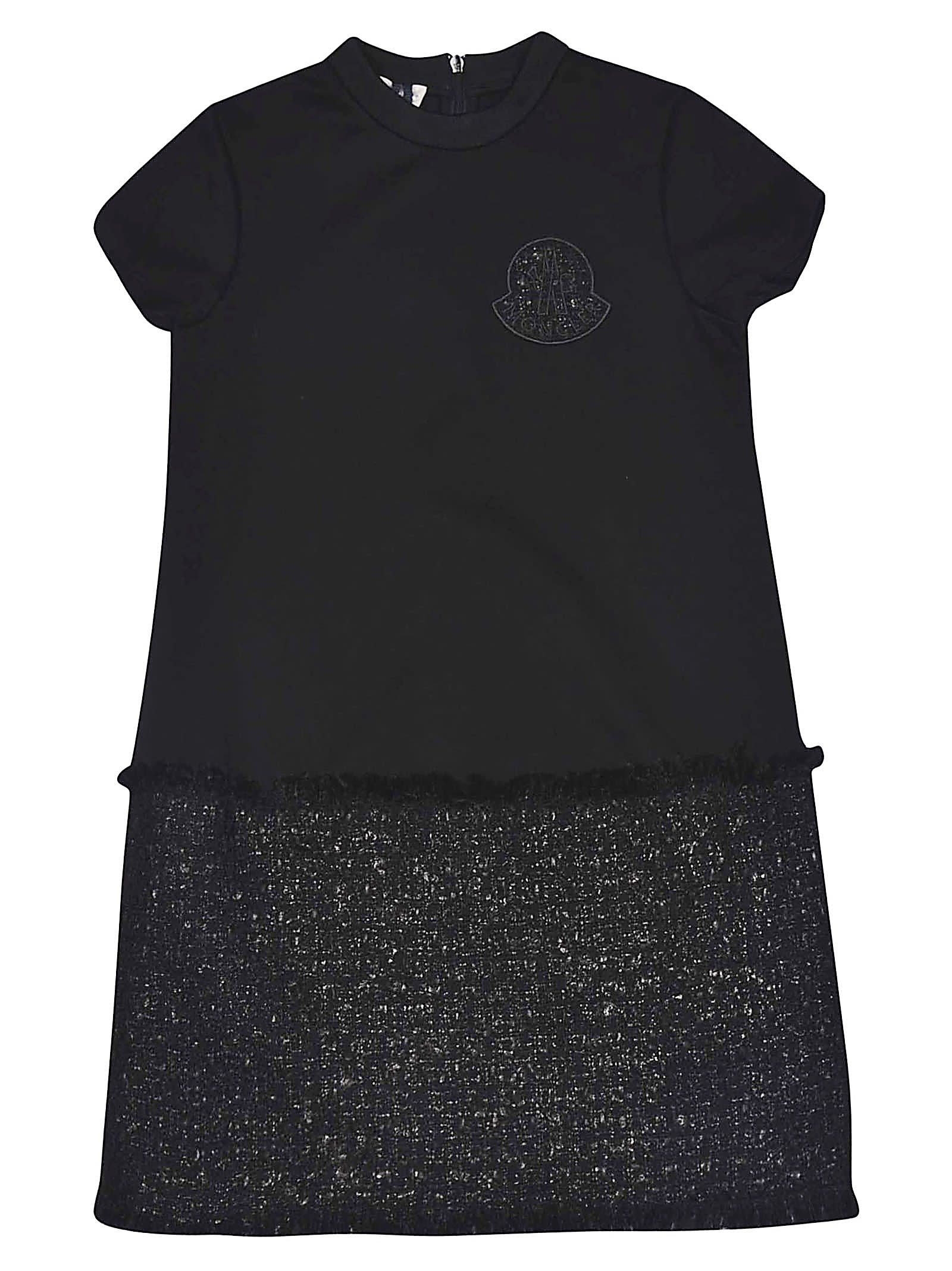 Buy Moncler Frayed Dress online, shop Moncler with free shipping