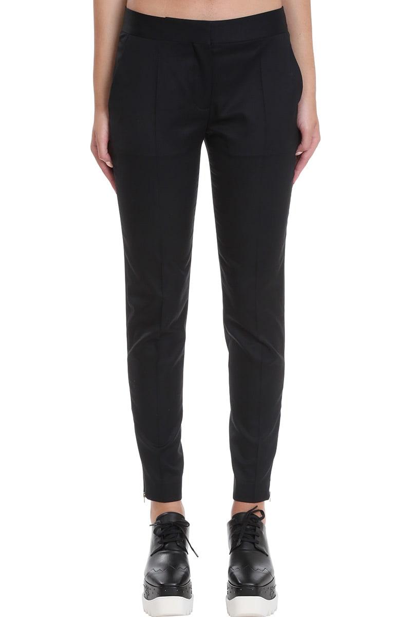 Stella McCartney Vivian Pants In Black Wool