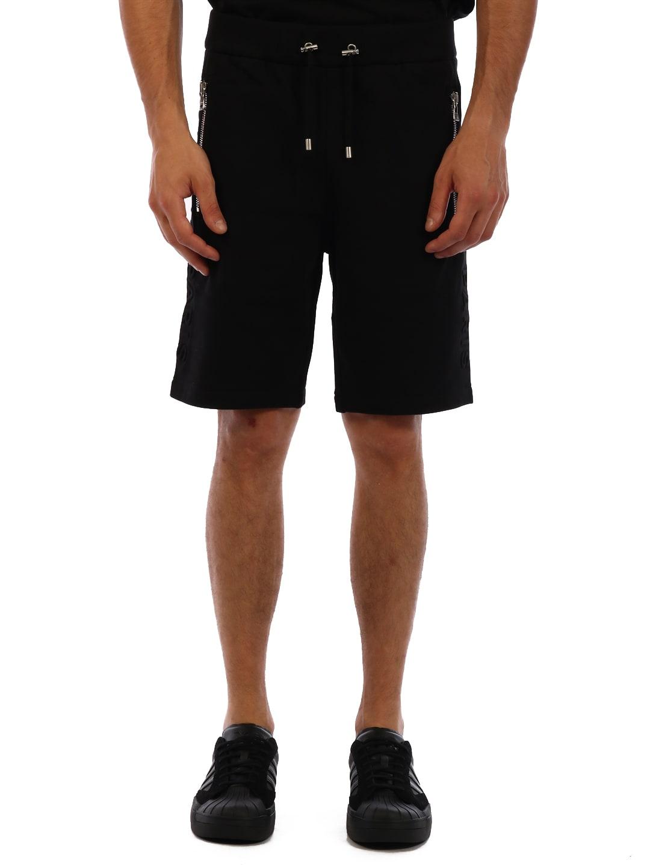 Balmain Logo Shorts Black