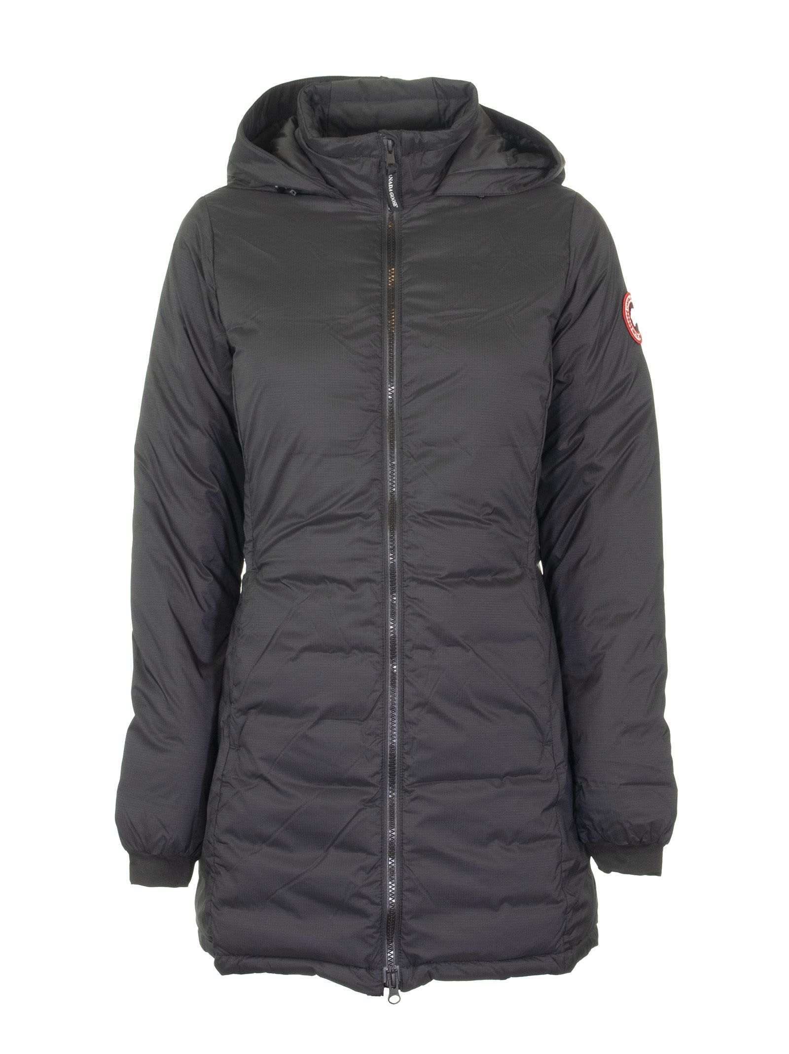 Canada Goose Camp Hooded Jacket Matte Finish Black