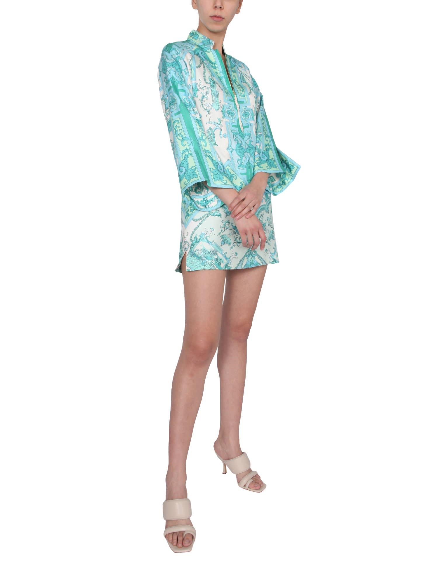 Buy Etro Short Caftan Panarea online, shop Etro with free shipping