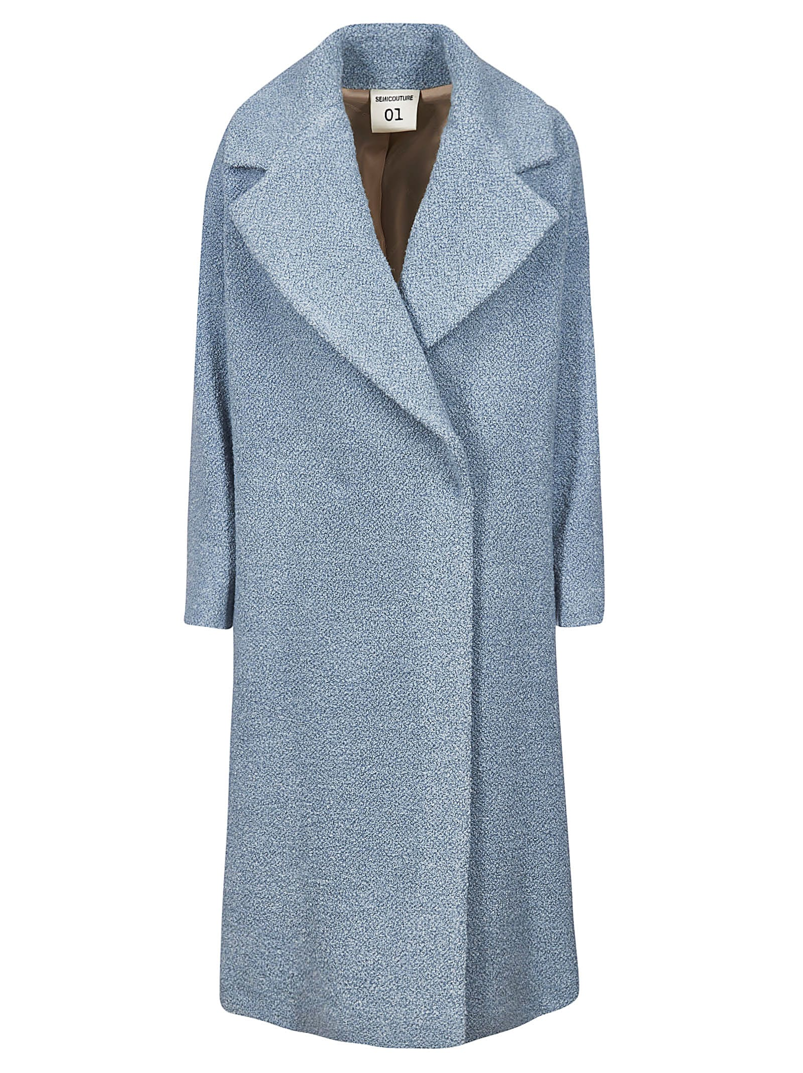 SEMICOUTURE Wide Lapel Coat